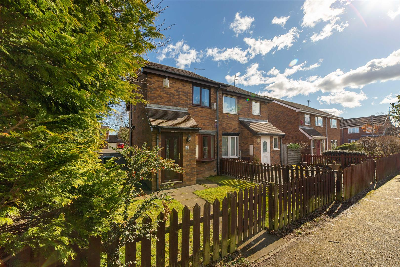 2 bed semi-detached house for sale in Cramlington, NE23 3LE, NE23
