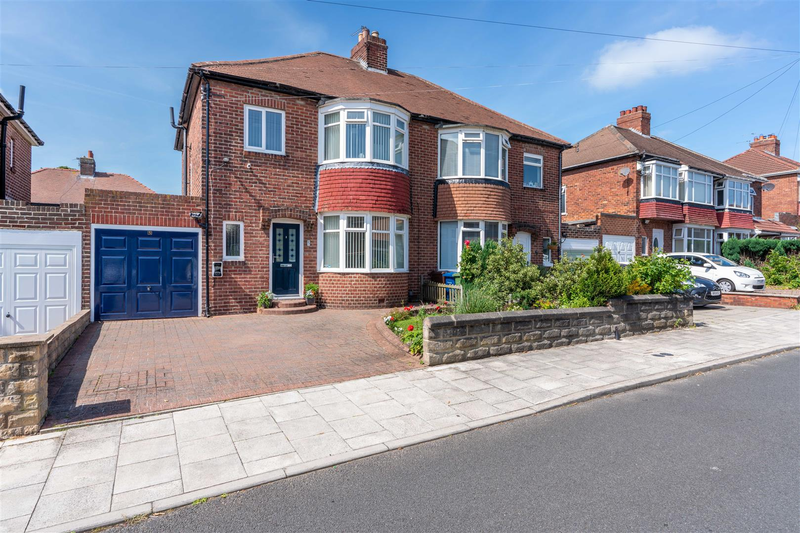 3 bed semi-detached house for sale in Vancouver Drive, High Heaton, NE7