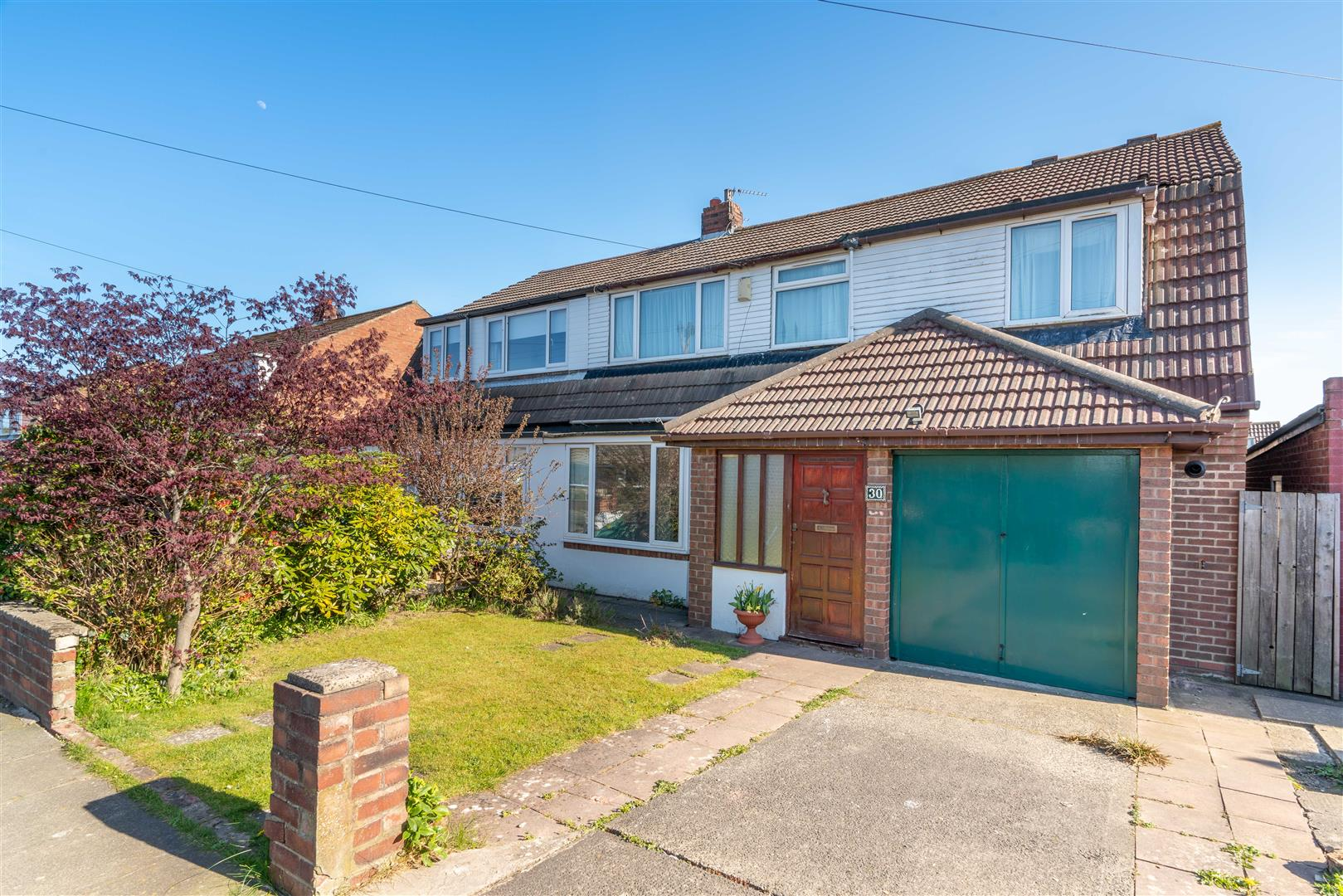 4 bed semi-detached house for sale in Caldwell Road, Red House Farm, NE3