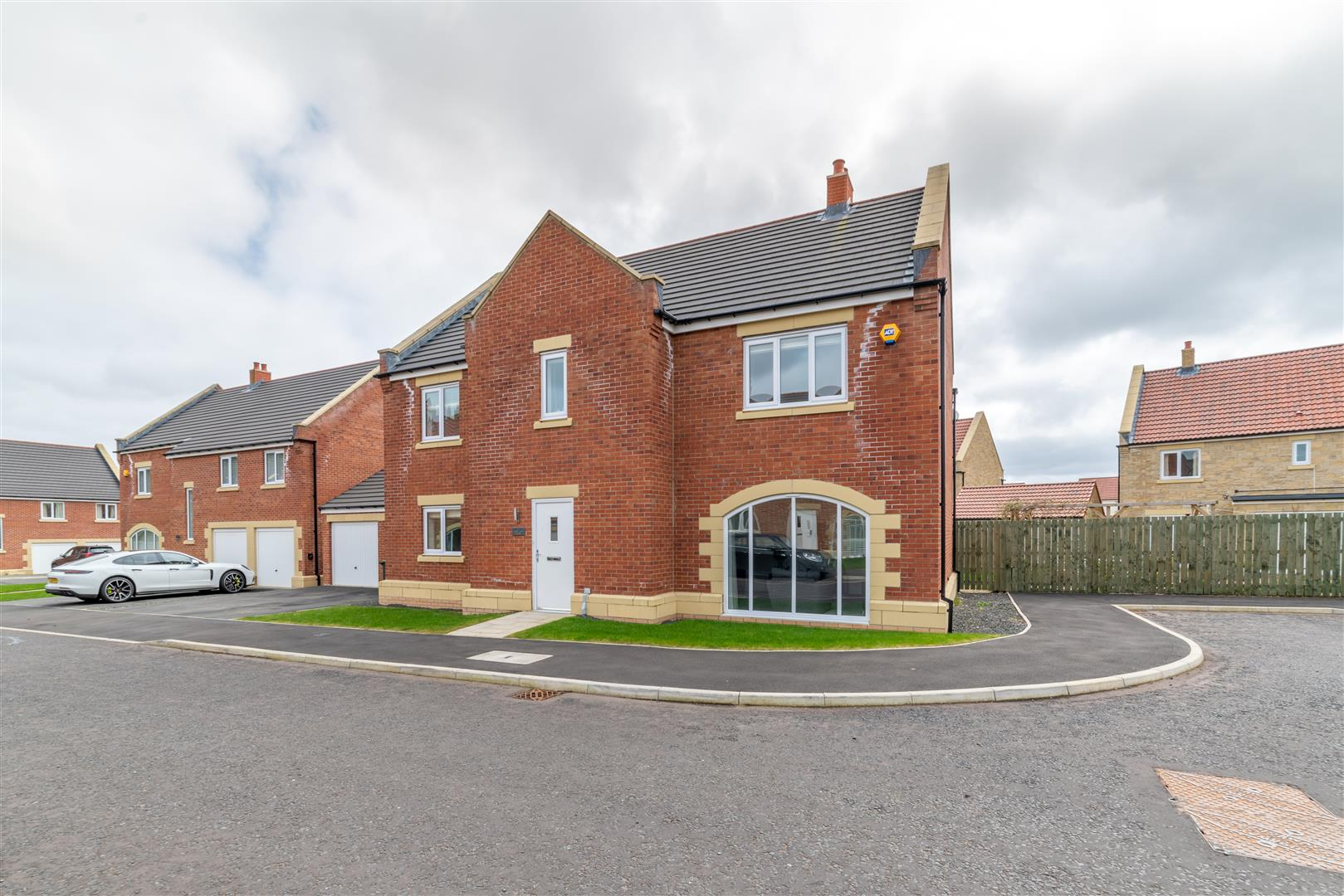 4 bed detached house for sale in Tree Top Close, Five Mile Park, NE13