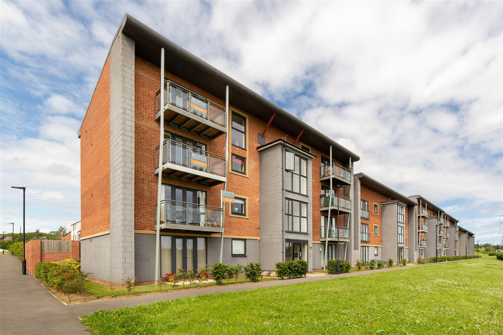 2 bed flat for sale in Elmwood Park Court, Great Park, NE13