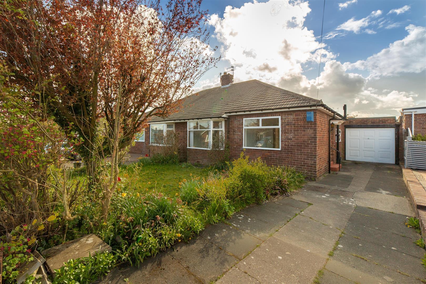 2 bed semi-detached bungalow for sale in Kirkwood Place, Brunton Park, NE3