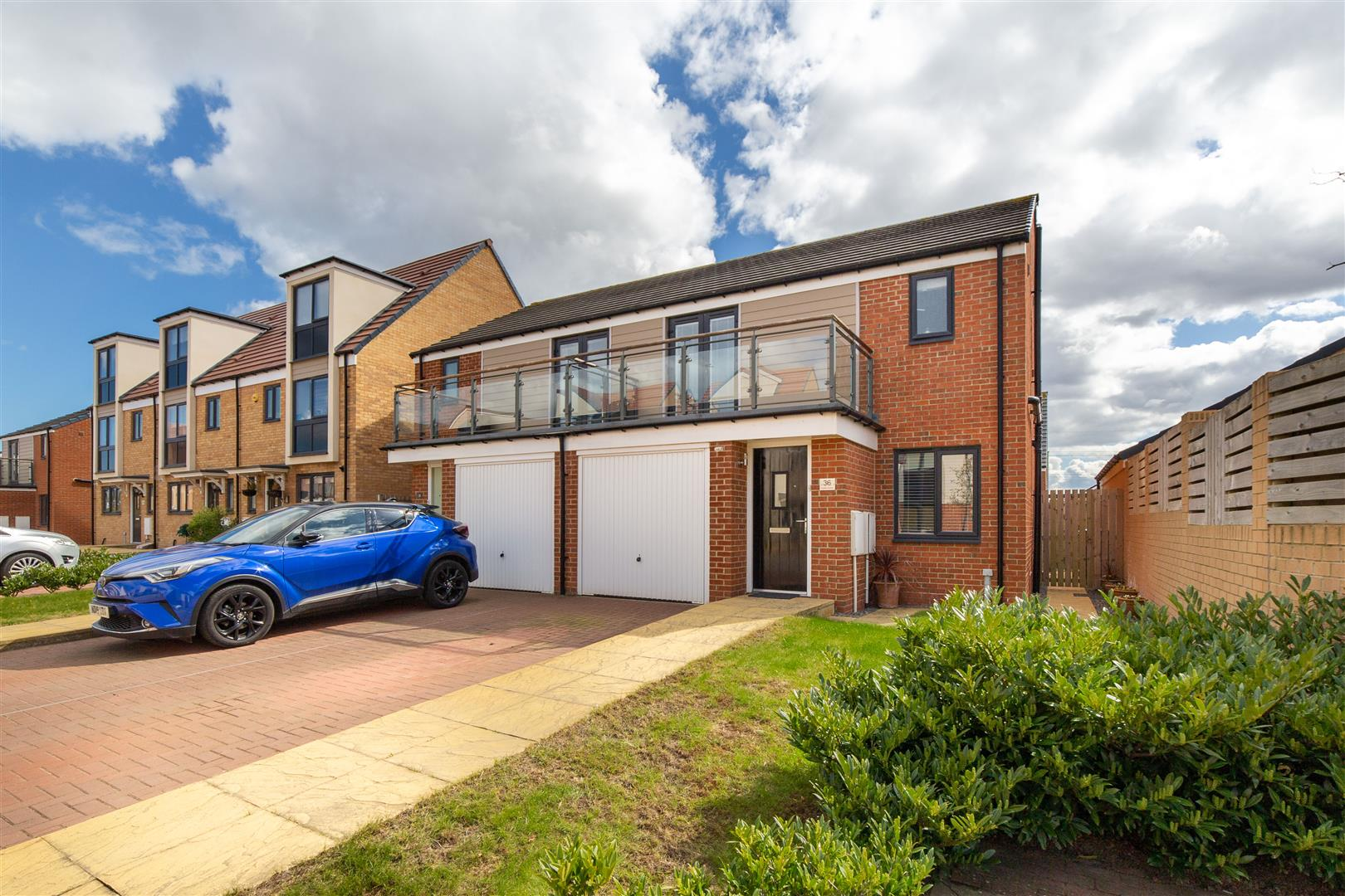 3 bed semi-detached house for sale in Newcastle Upon Tyne, NE13 9DN, NE13