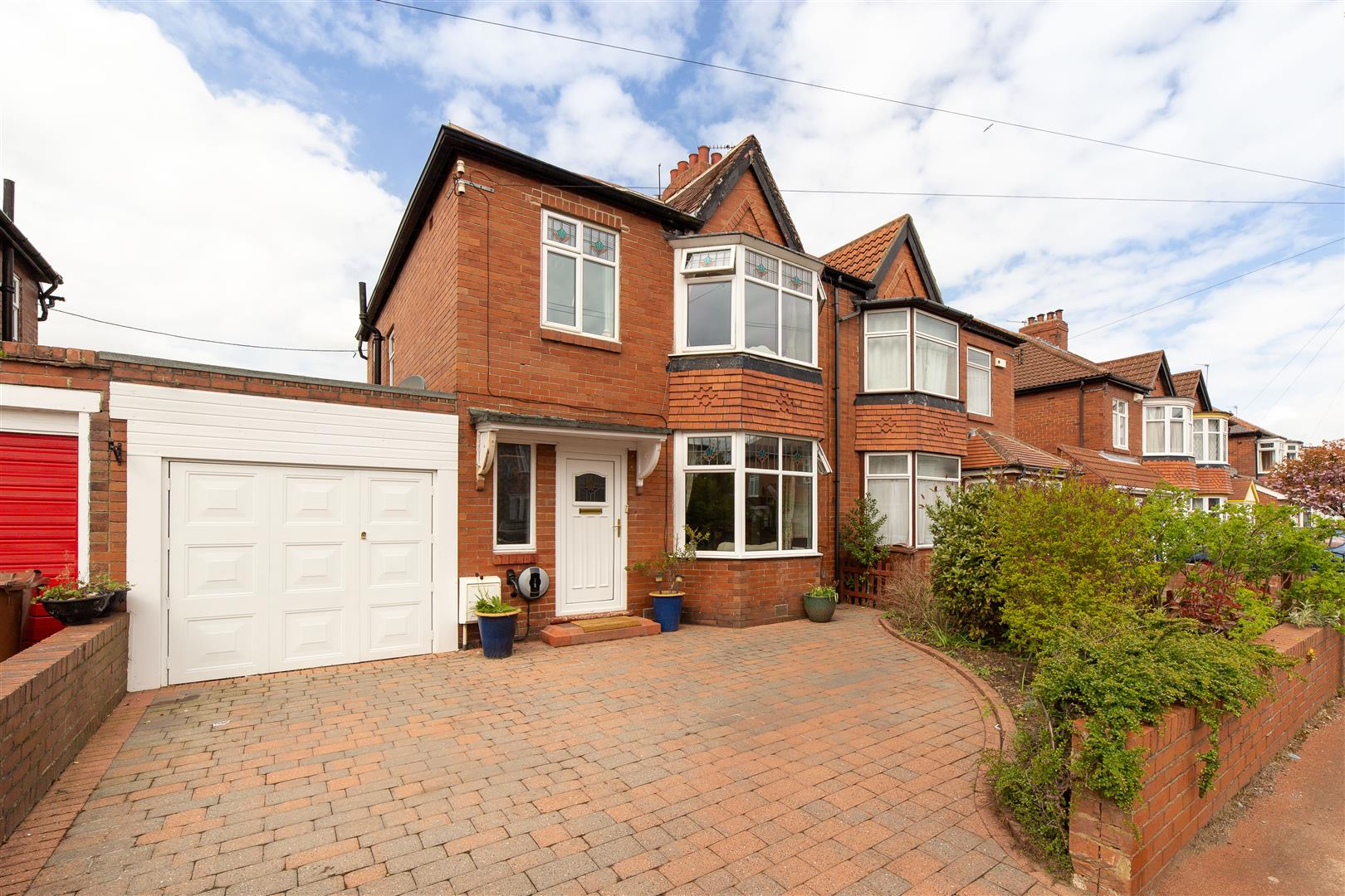 3 bed semi-detached house for sale in Prestwick Gardens, Kenton, NE3