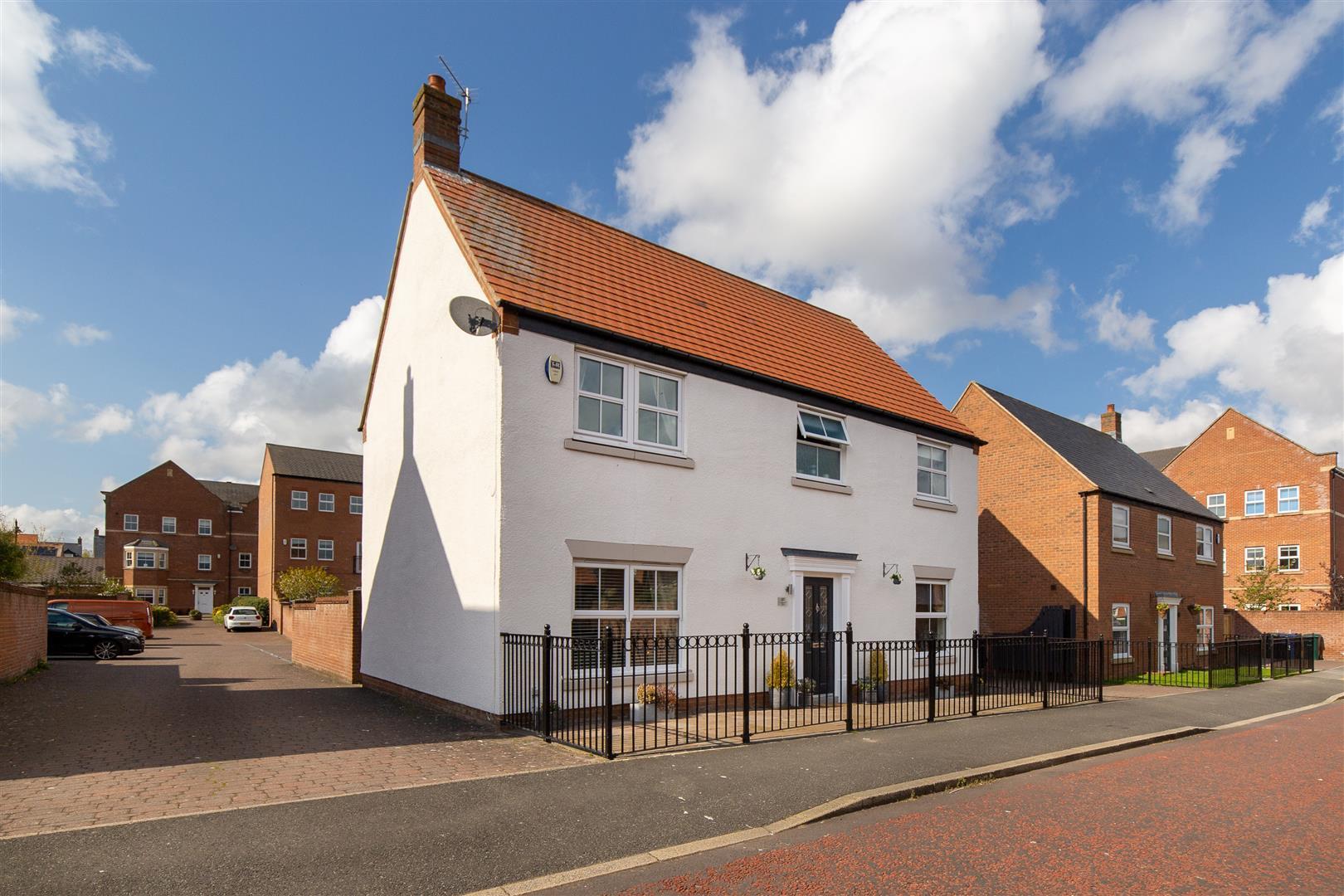 4 bed detached house for sale in Halton Way, Great Park, NE3