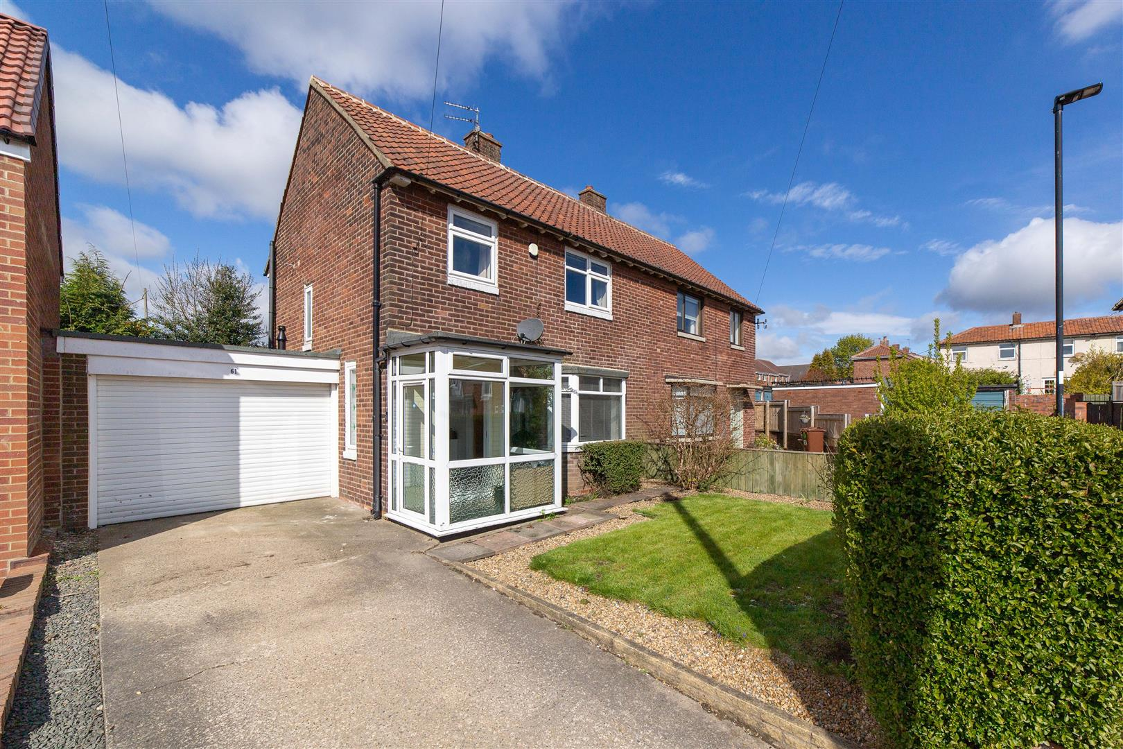 3 bed semi-detached house for sale in Whitgrave Road, Kenton, NE5