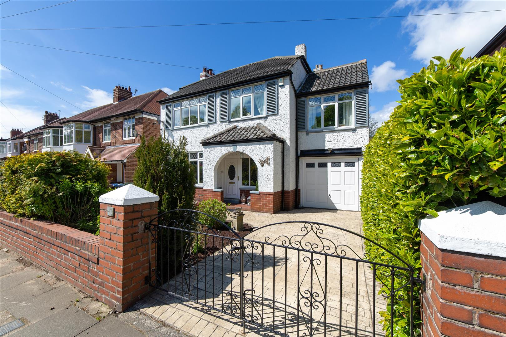 4 bed detached house for sale in Great North Road, Brunton Park  - Property Image 1