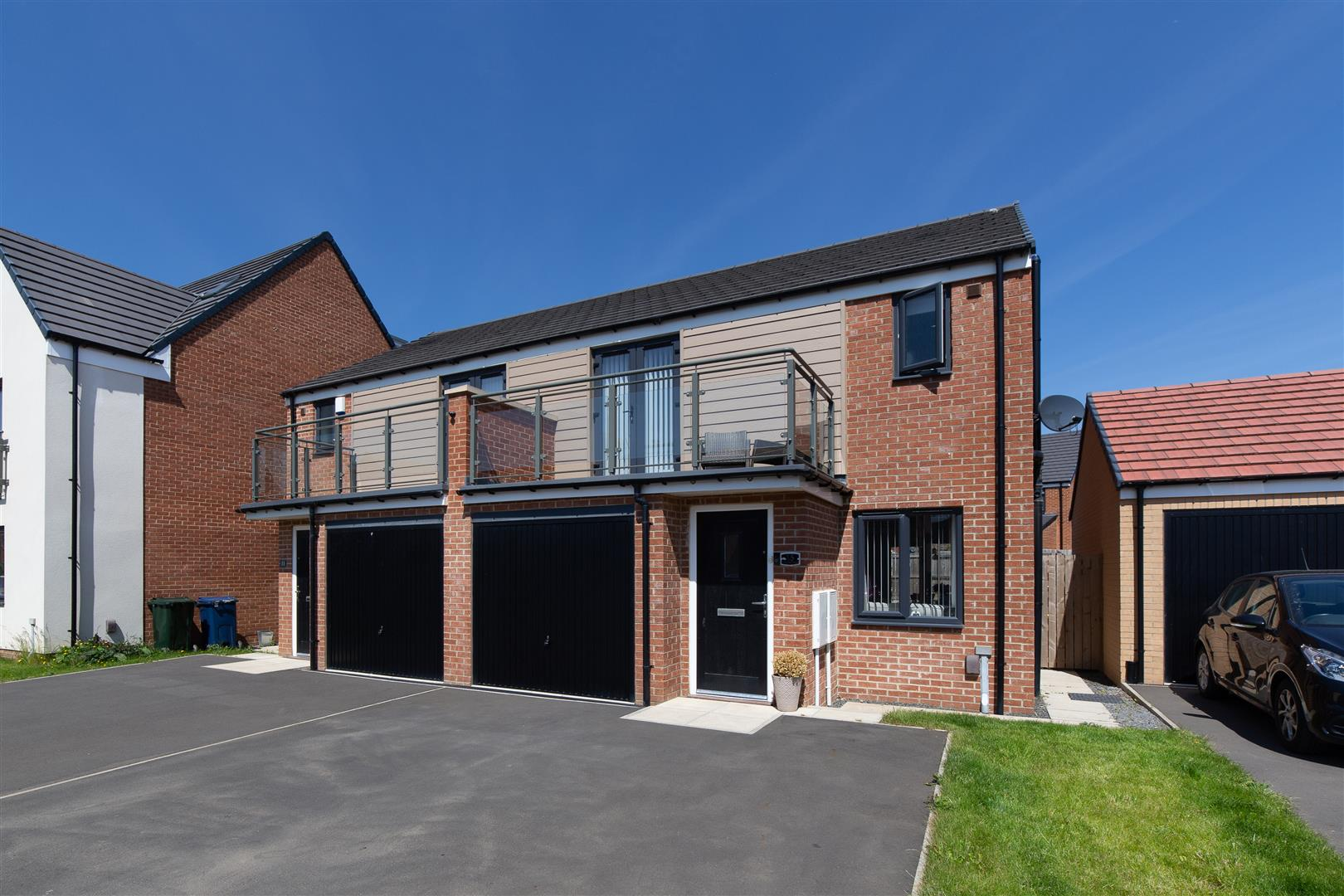 3 bed semi-detached house for sale in Willowbay Drive, Great Park, NE13