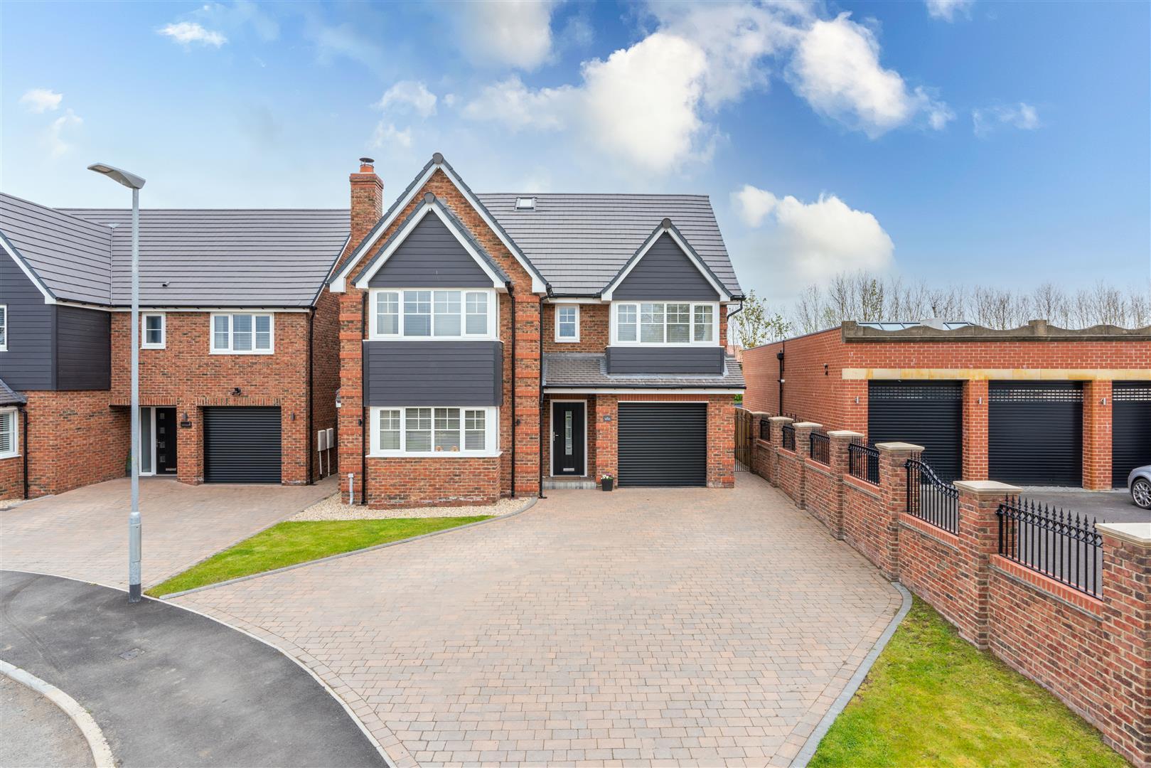 5 bed detached house for sale in St. Davids Park, Cramlington, NE23