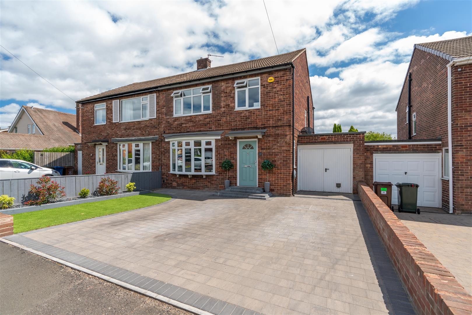 3 bed semi-detached house for sale in Princes Road, Newcastle Upon Tyne  - Property Image 1