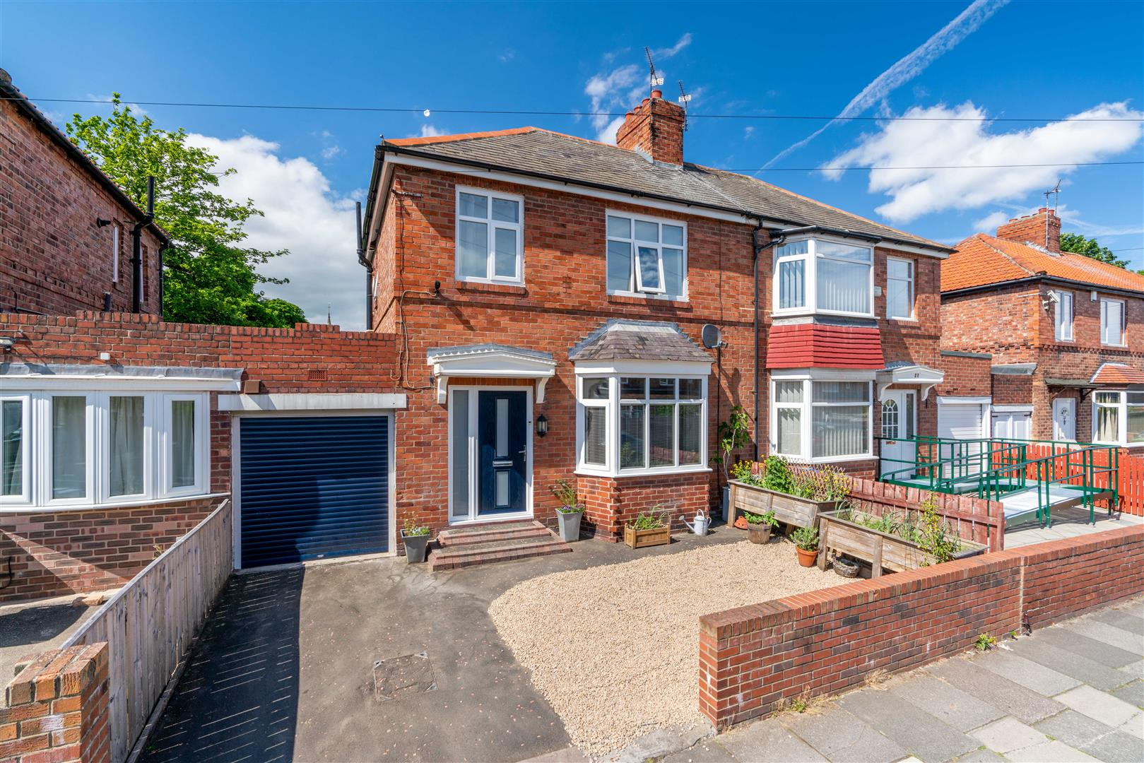 2 bed semi-detached house for sale in Hilden Gardens, High Heaton, NE7