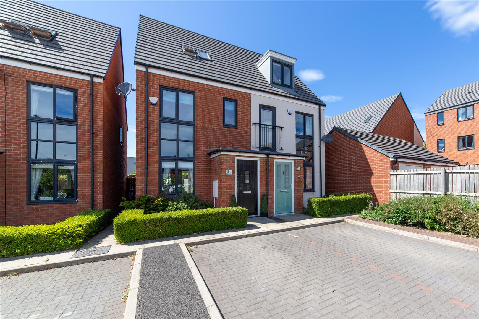 3 bed end of terrace house to rent in Elmwood Park Court, Great Park, NE13