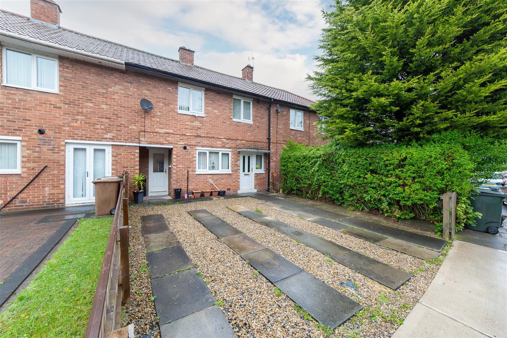 3 bed terraced house for sale in Bowman Drive, Cramlington, NE23