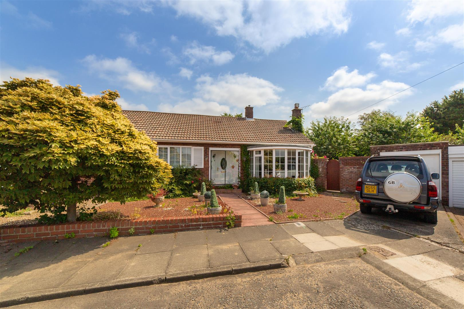 2 bed semi-detached bungalow for sale in Linwood Place, Newcastle Upon Tyne, NE3