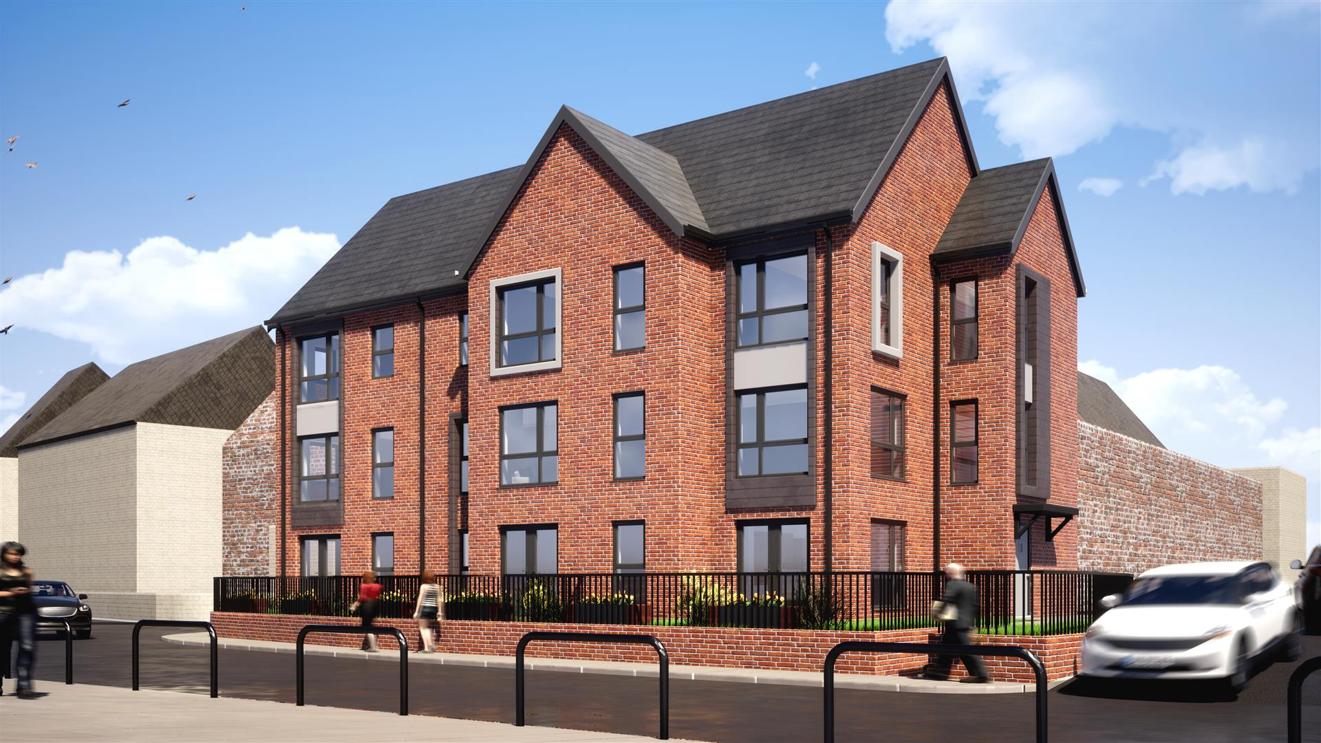4 bed town house for sale in Queens Court, Whitley Bay, NE26