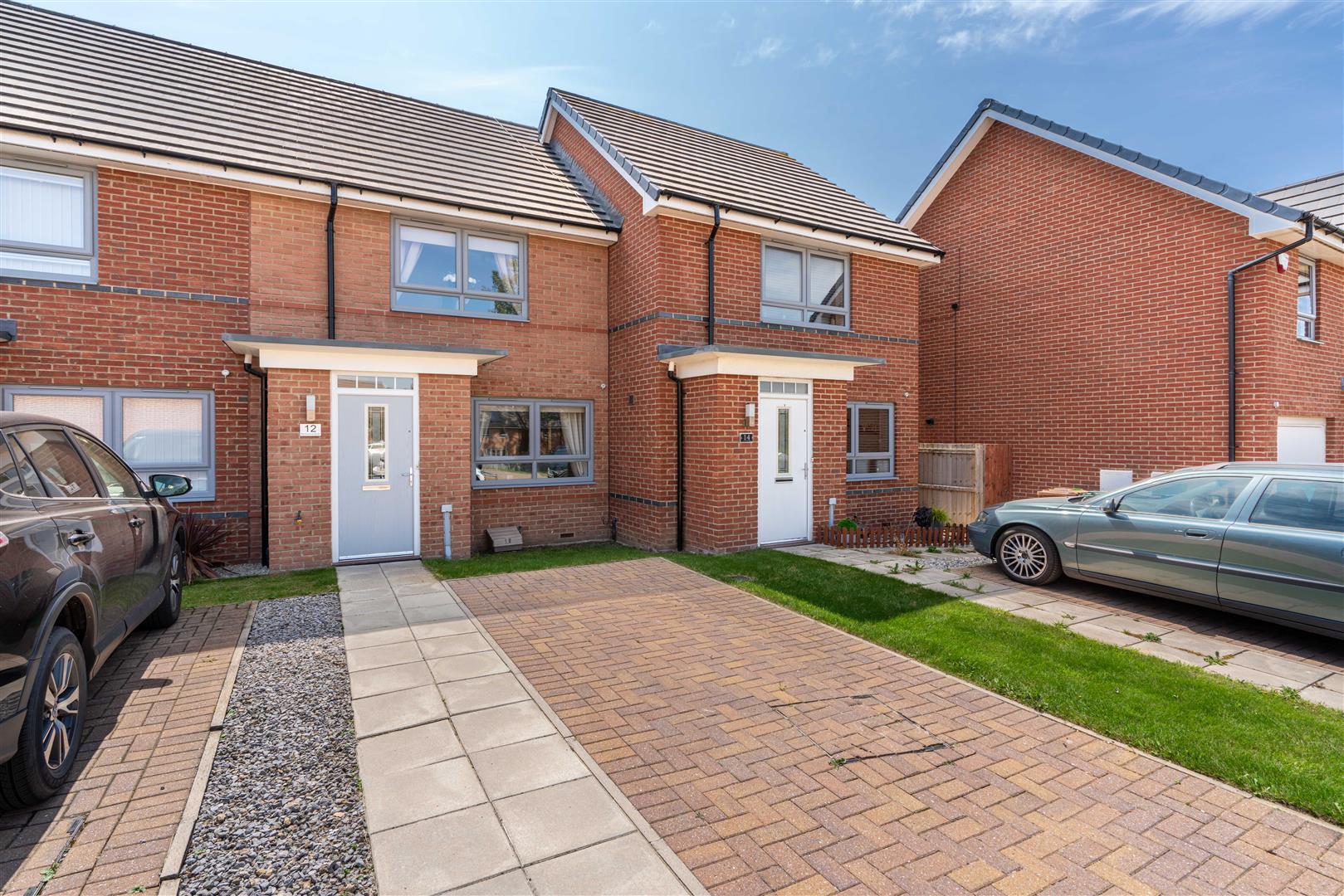 2 bed terraced house for sale in Byrewood Walk, Kenton, NE3