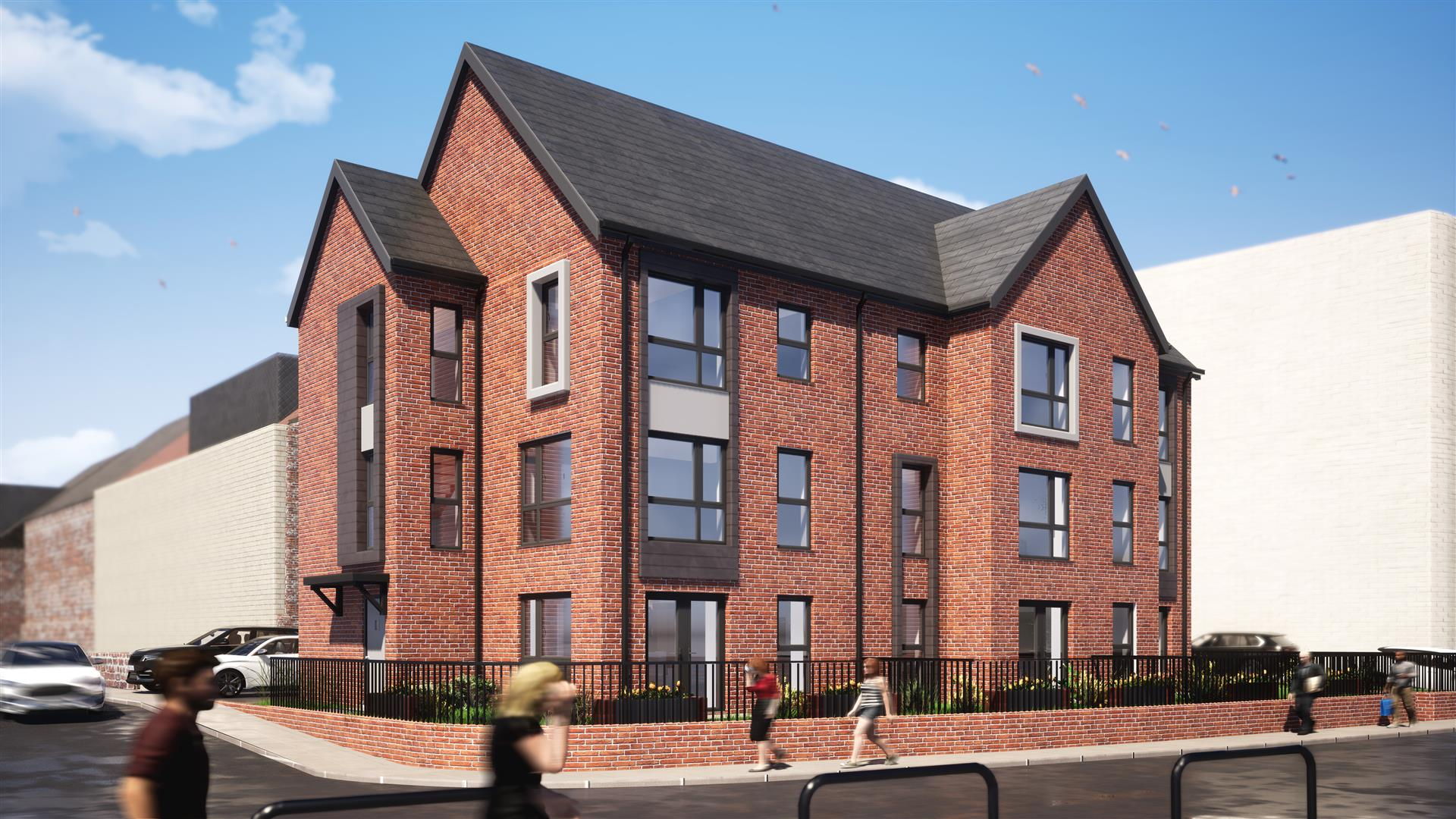 4 bed town house for sale in Queens Court, Whitley Bay  - Property Image 1