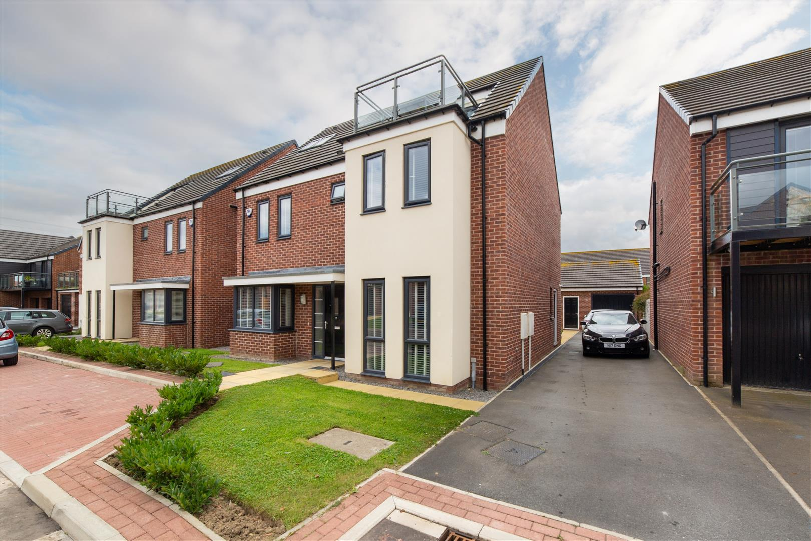 5 bed detached house for sale in Birchwood Chase, Great Park, NE13