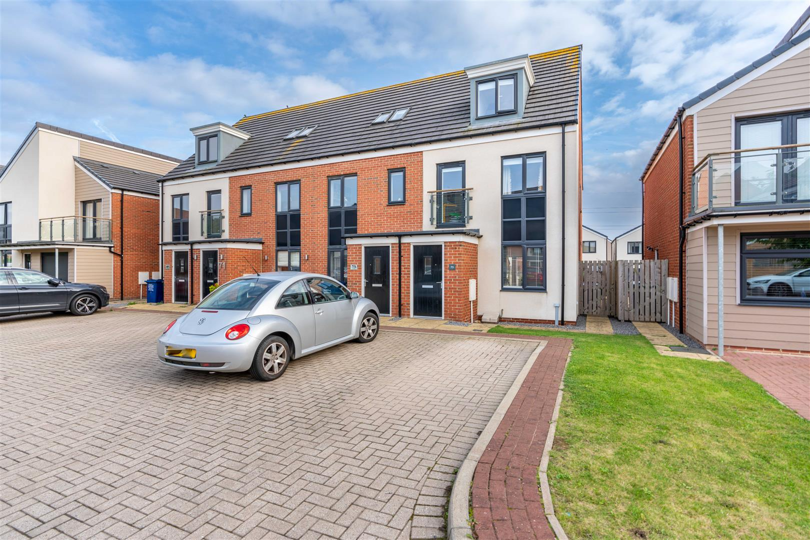 3 bed town house for sale in Greville Gardens, Newcastle Upon Tyne  - Property Image 1