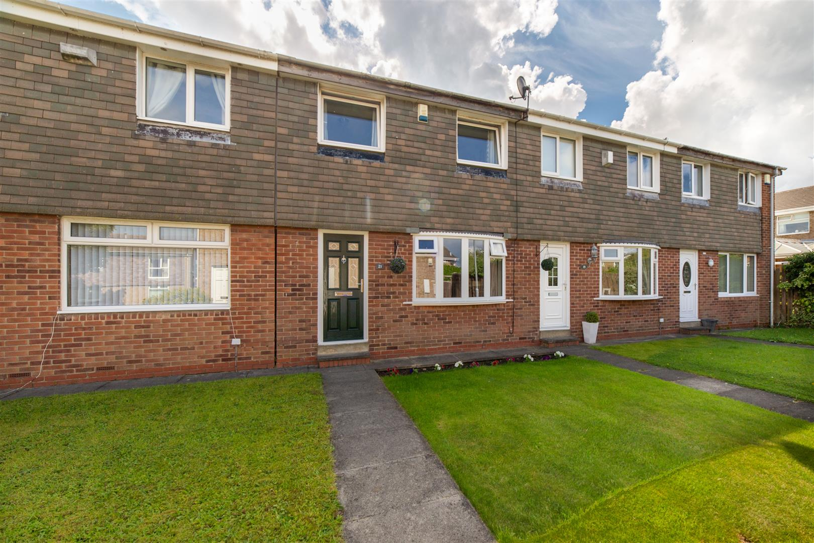 3 bed terraced house for sale in Oswestry Place, Cramlington, NE23