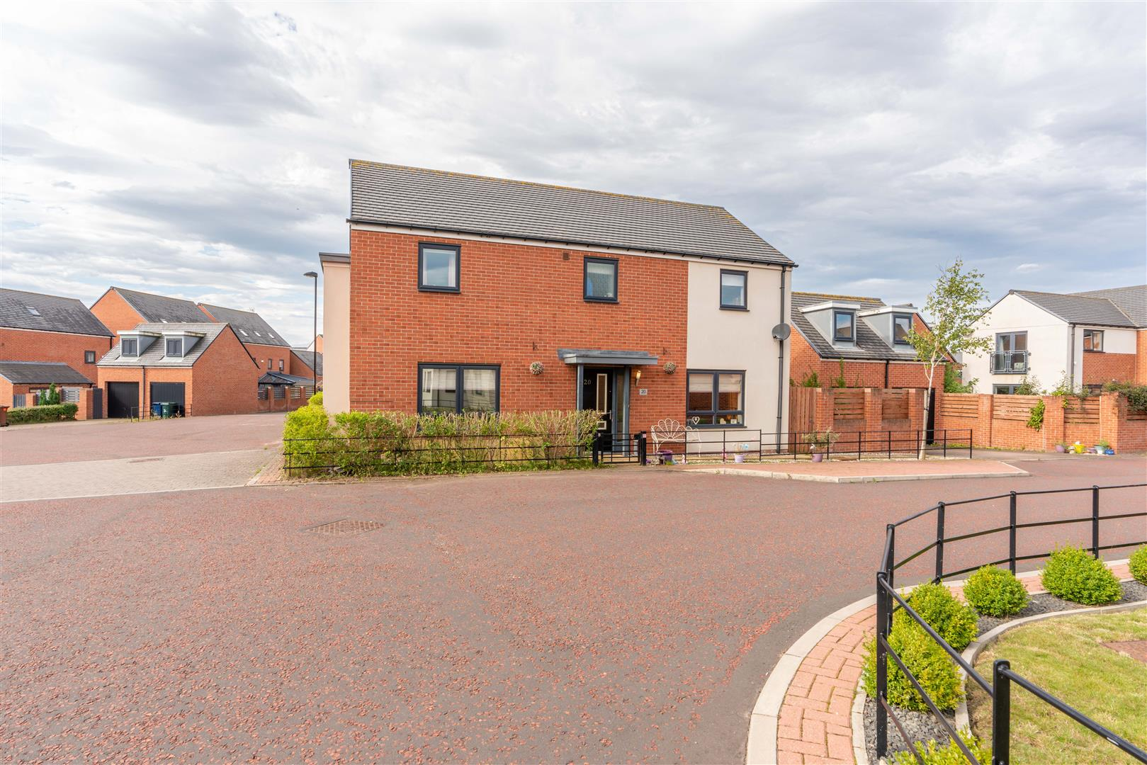 5 bed detached house for sale in Kimmerstone Road, Great Park - Property Image 1