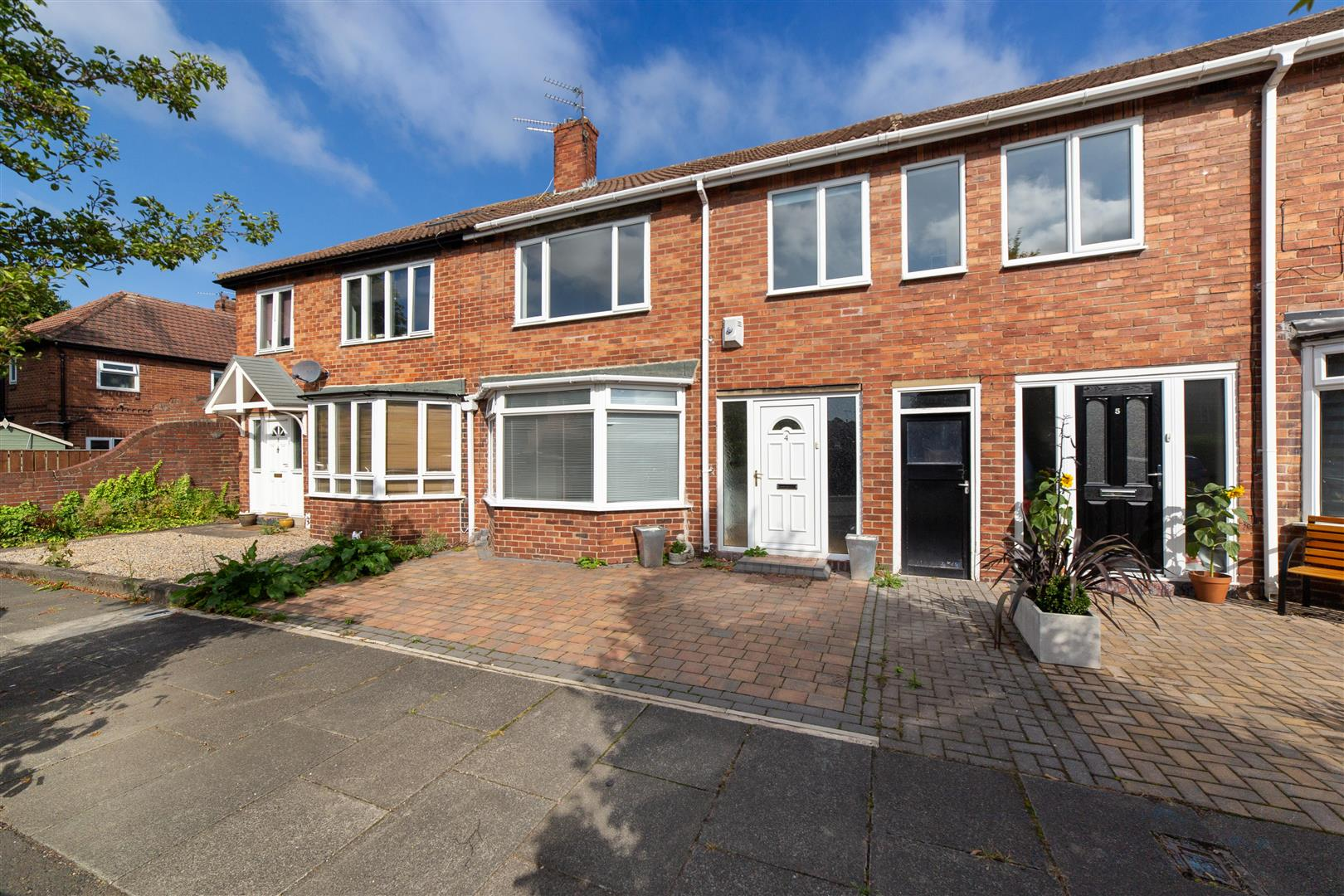 3 bed terraced house for sale in Grasmere Place, Newcastle Upon Tyne, NE3