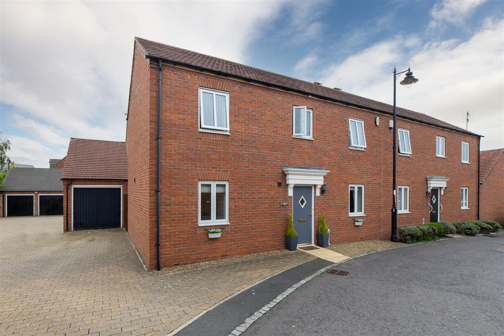 3 bed end of terrace house for sale in Chipchase Mews, Great Park, NE3
