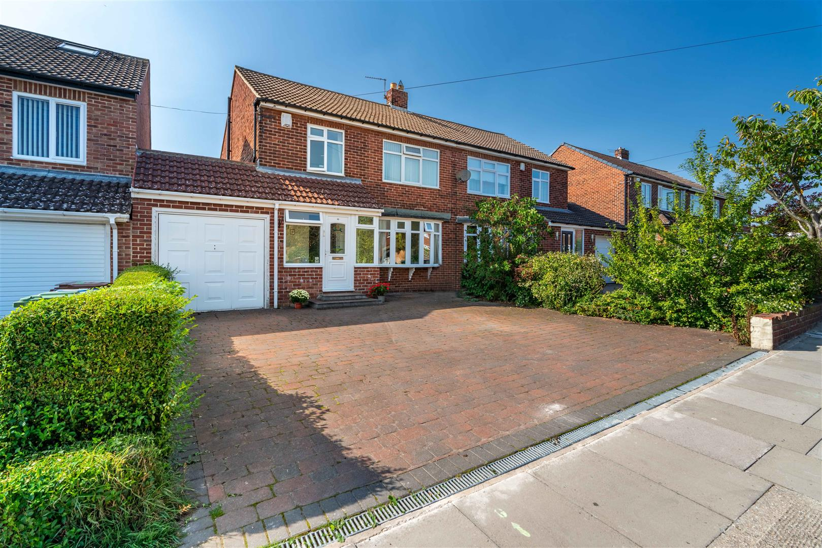 3 bed semi-detached house for sale in Greenfield Road, Brunton Park, NE3