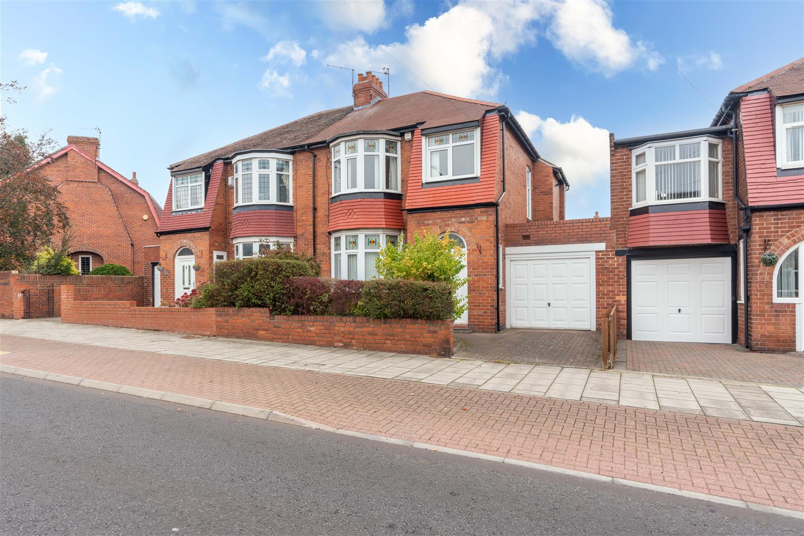 3 bed semi-detached house for sale in Kenton Lane, Newcastle Upon Tyne, NE3