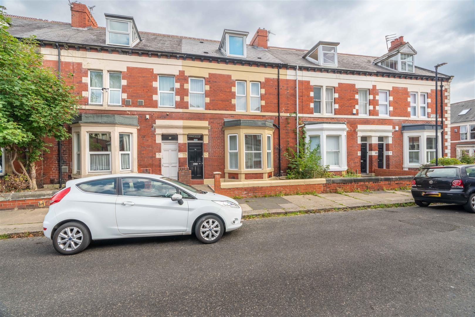 6 bed terraced house for sale in Granville Gardens, Jesmond Vale, NE2