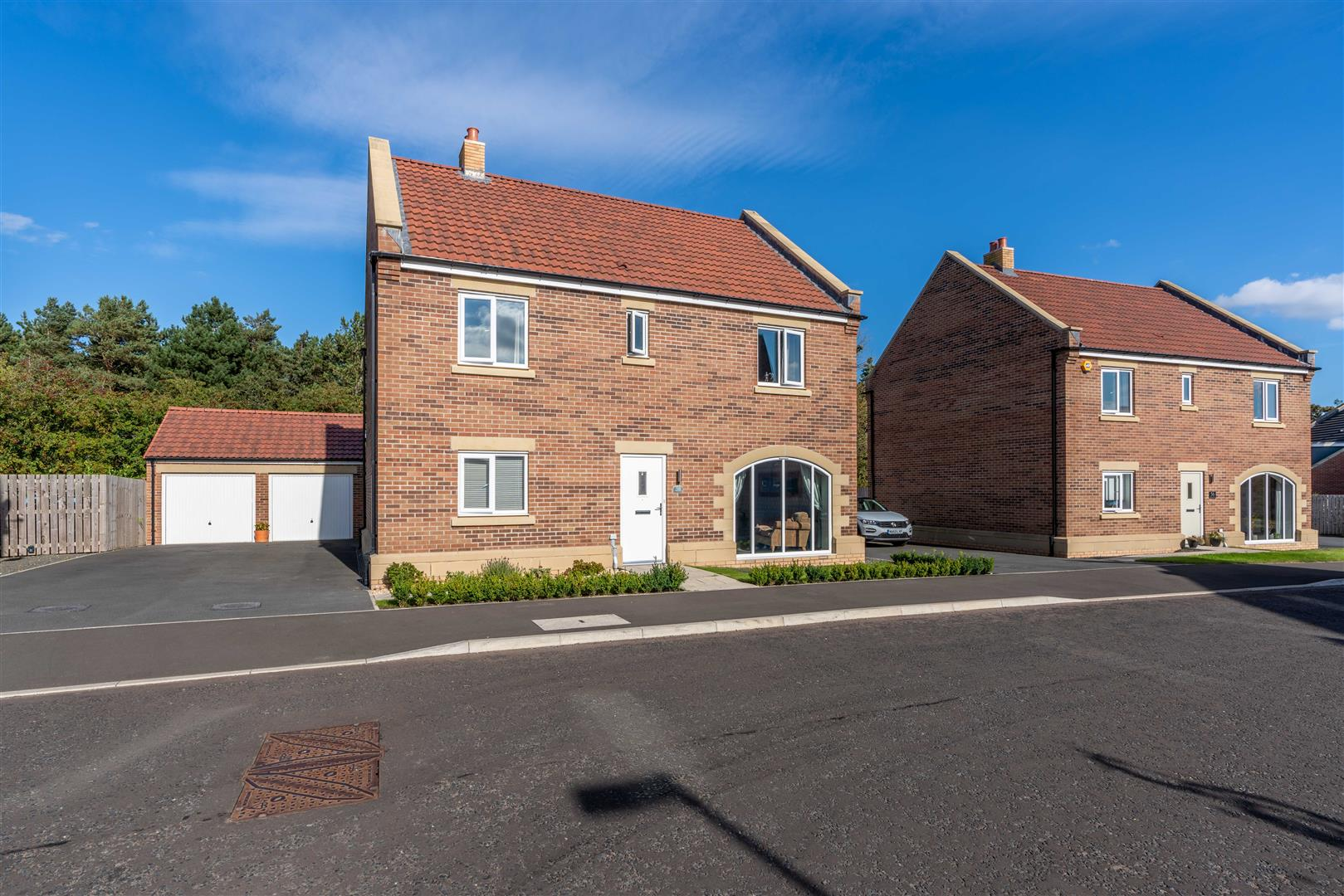 4 bed detached house for sale in Stonecrop Drive, Five Mile Park, NE13