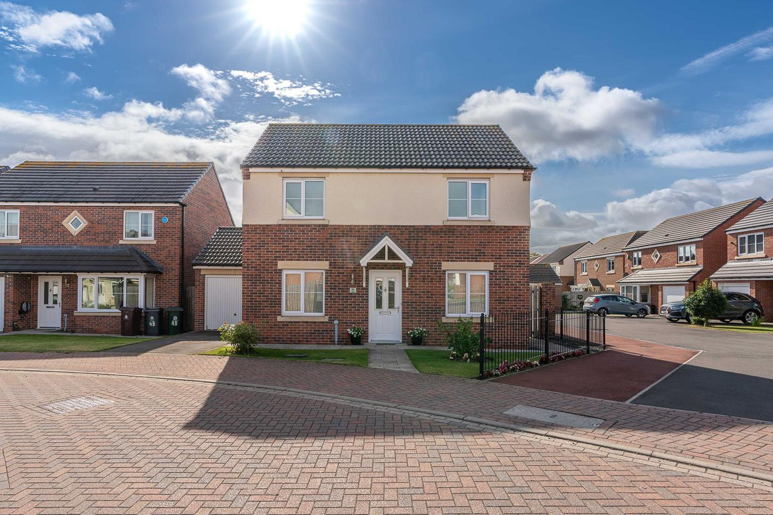 3 bed detached house for sale in Dunnock Place, Wideopen, NE13