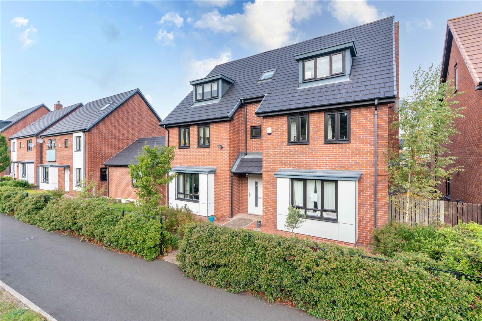 6 bed detached house for sale in Abberwick Walk, Newcastle Upon Tyne  - Property Image 1