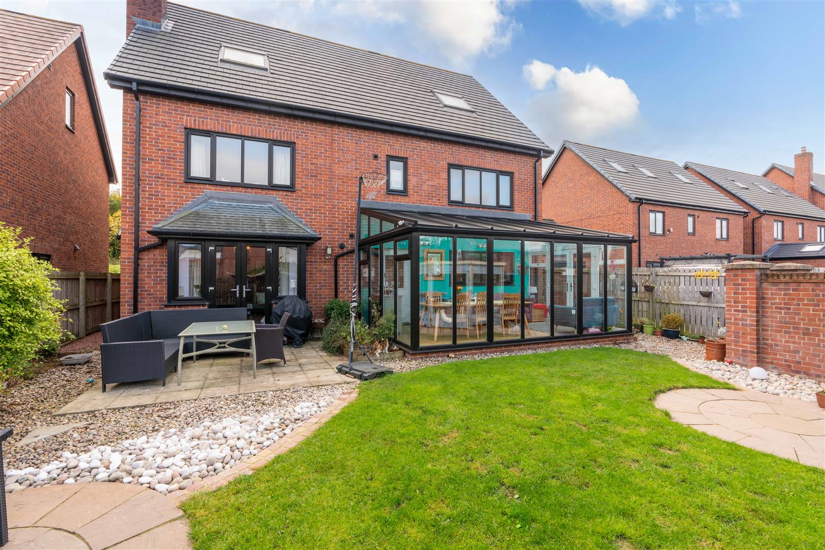 6 bed detached house for sale in Abberwick Walk, Newcastle Upon Tyne 3