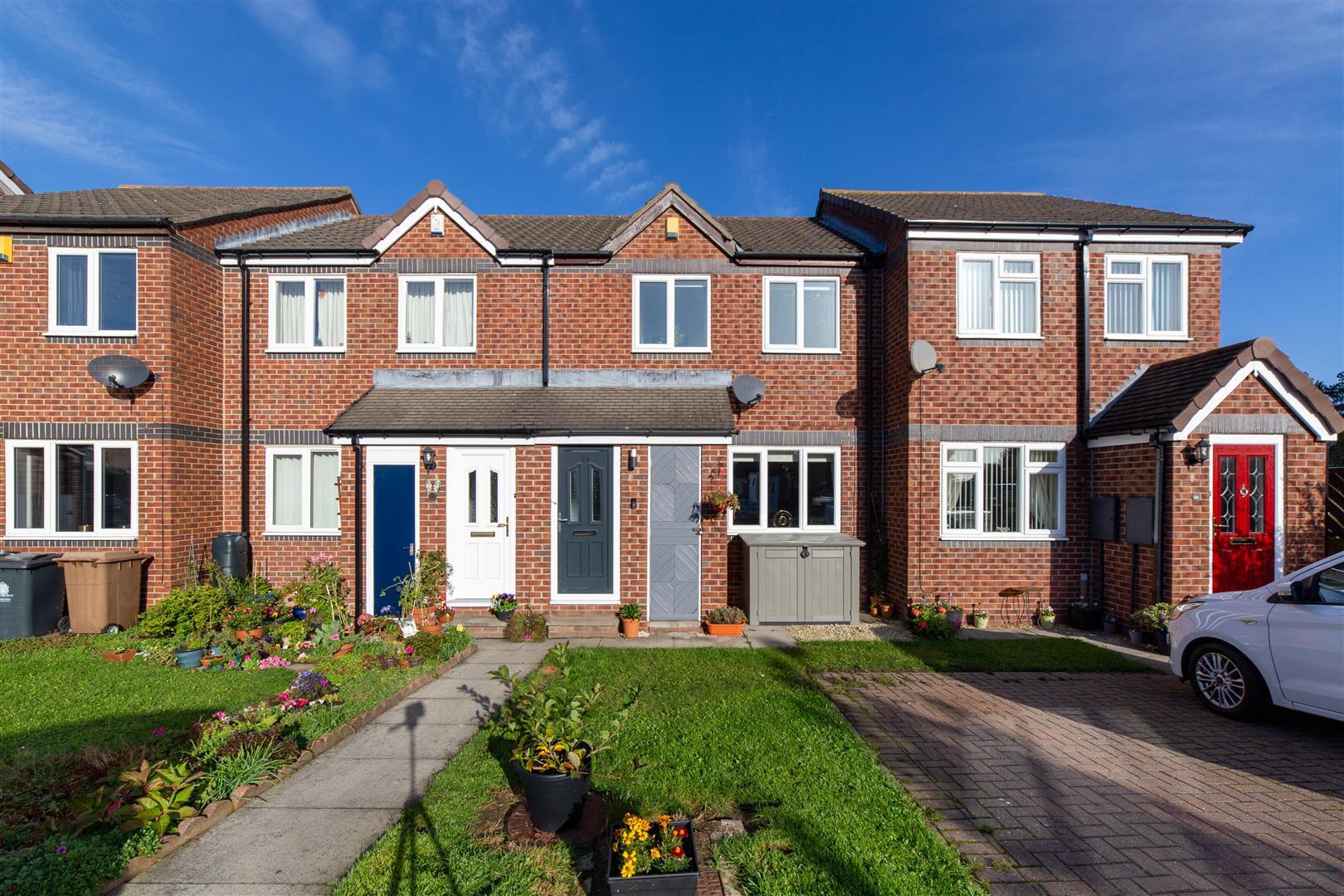 2 bed terraced house for sale in Hanover Court, Cramlington, NE23