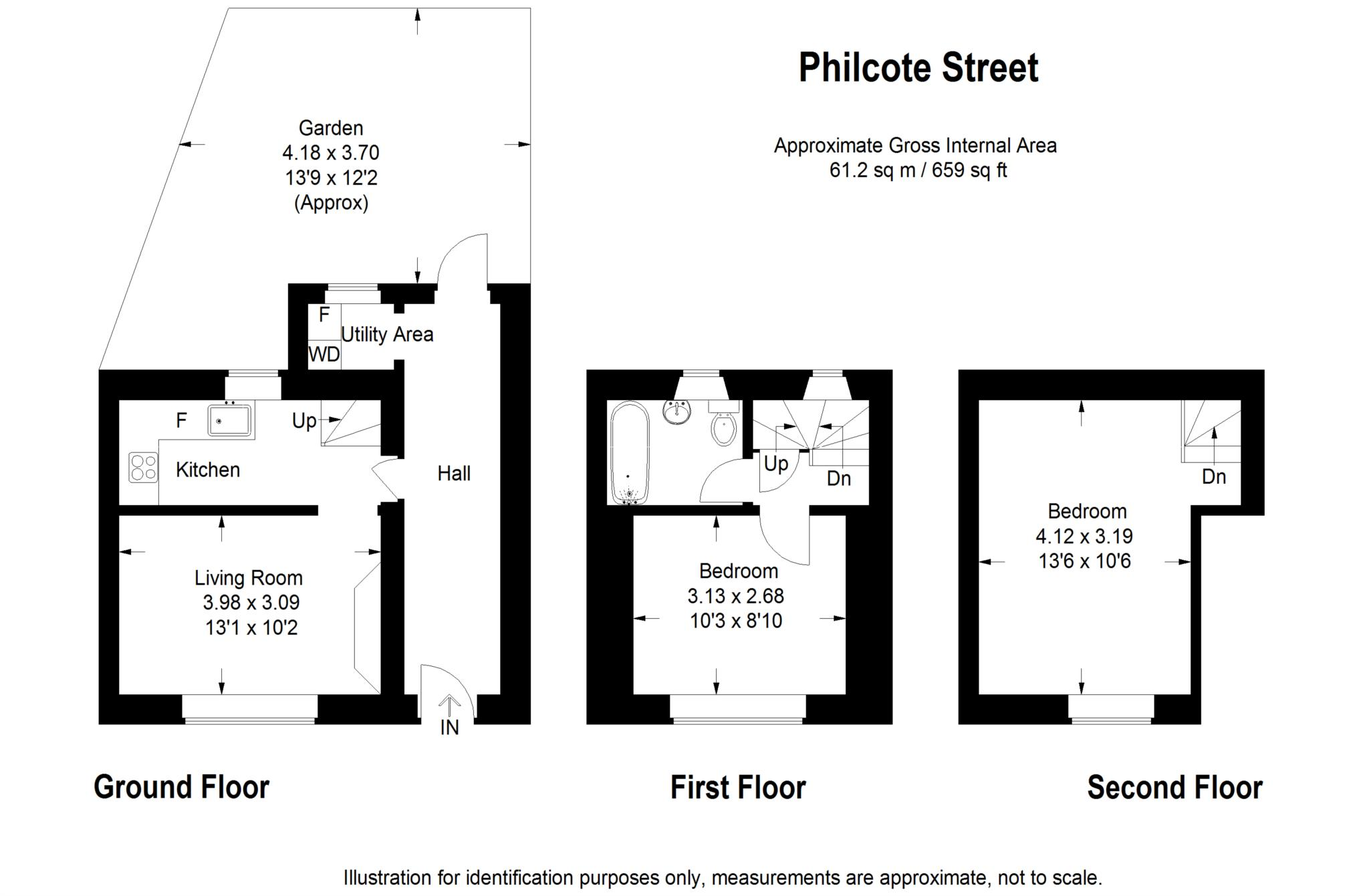 2 bed cottage to rent in Philcote Street, Deddington, Banbury - Property Floorplan