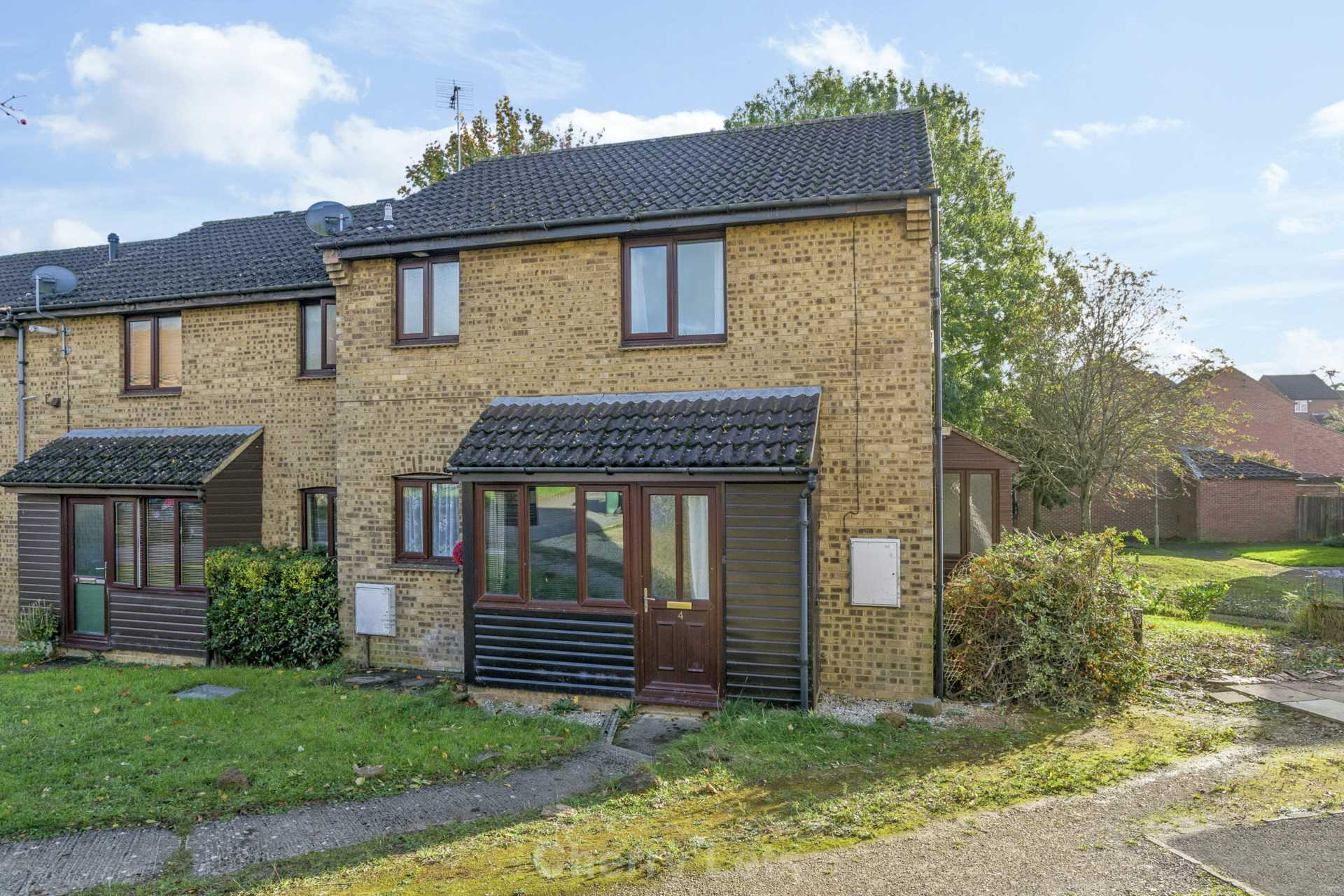 1 bed end of terrace house to rent in Bedford Close, Banbury, OX16  - Property Image 1