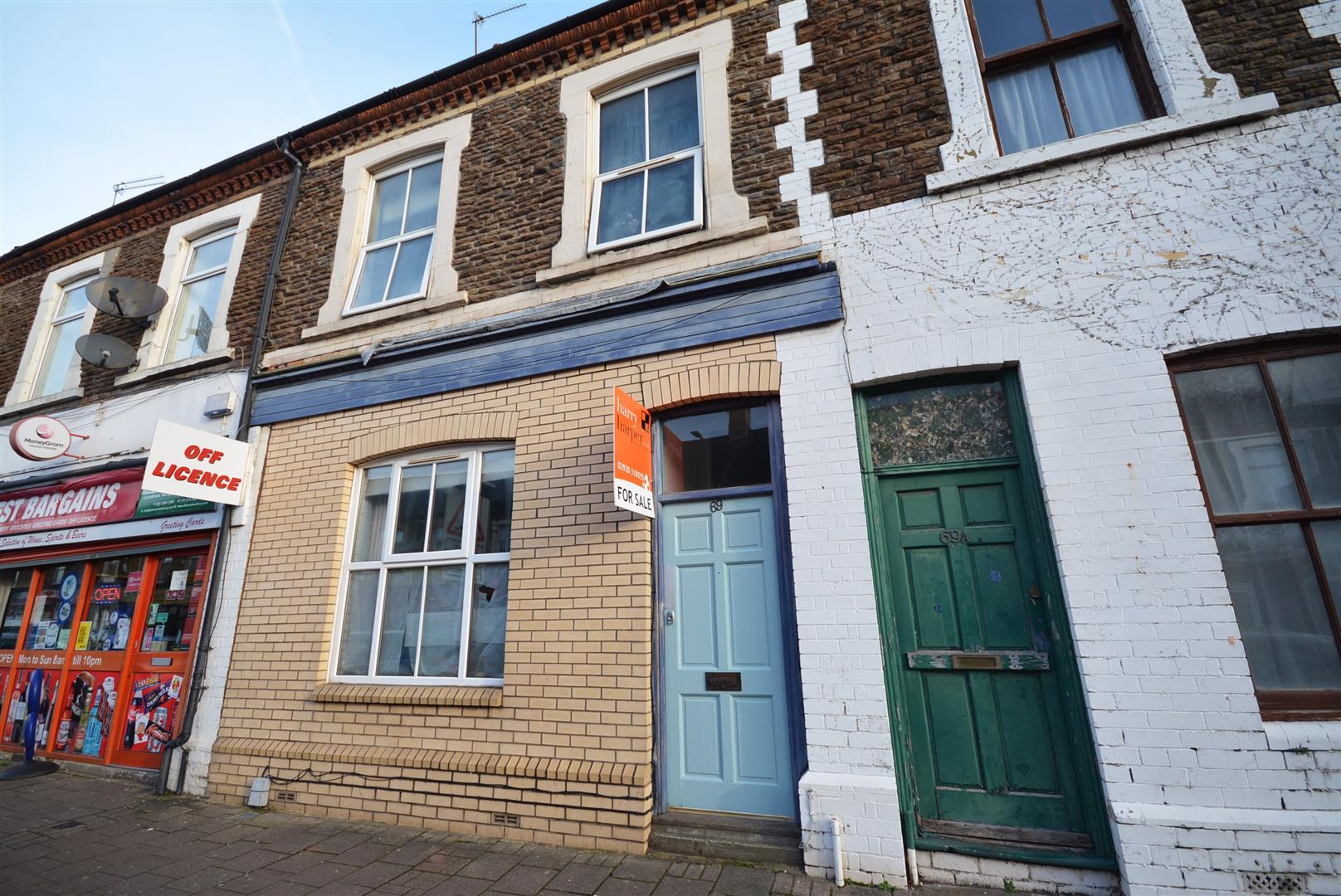 5 bed terraced house for sale in Splott Road, Cardiff - Property Image 1