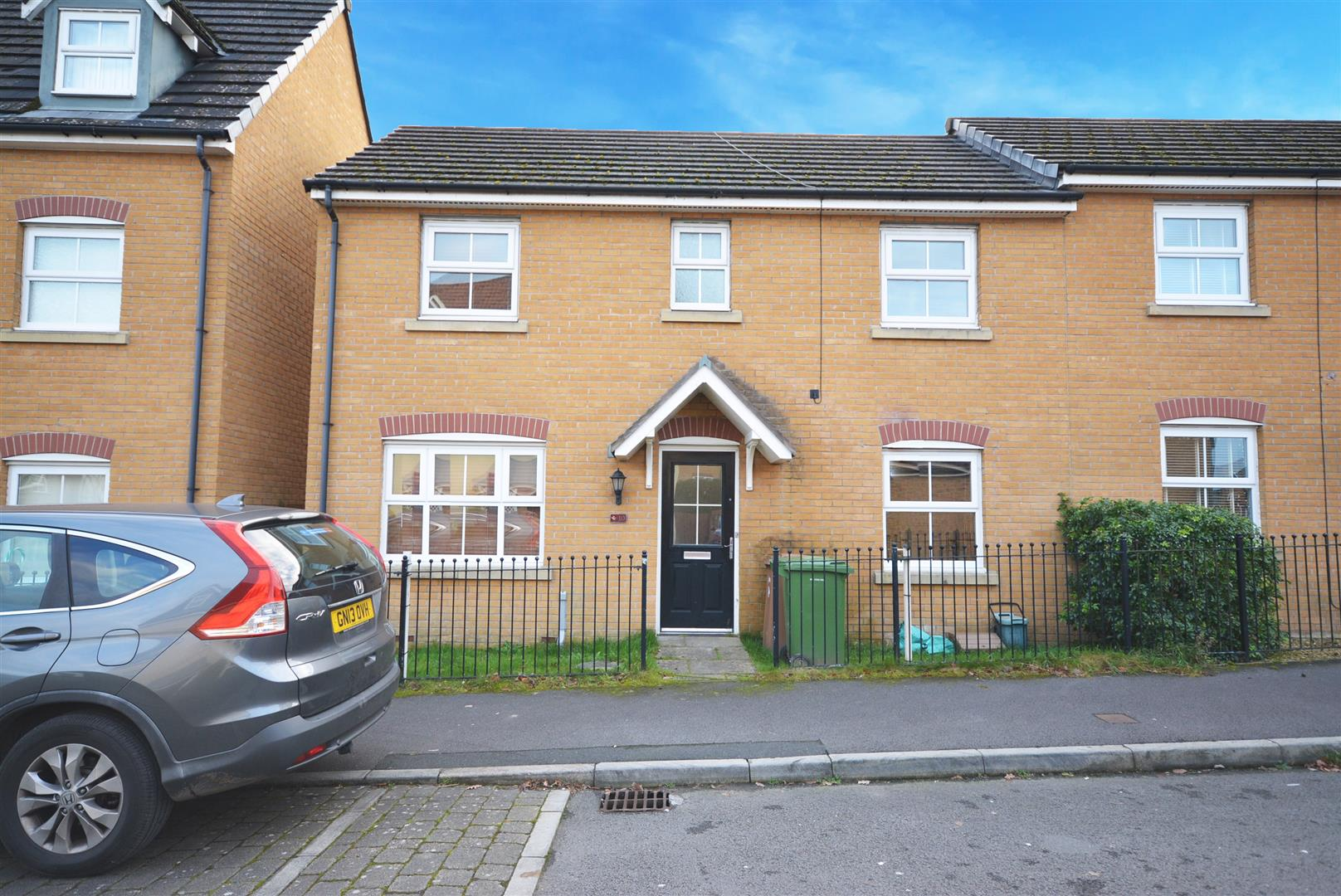 3 bed semi-detached house for sale in Red Kite Close, Hengoed, CF82