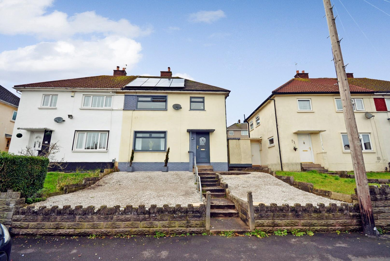 3 bed semi-detached house for sale in Llandudno Road, Cardiff - Property Image 1