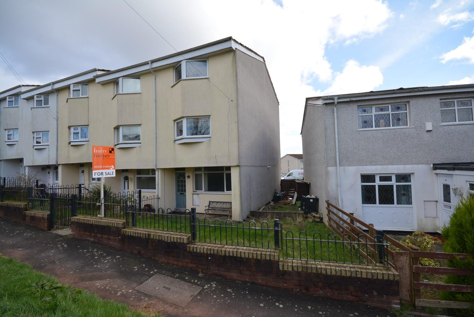 4 bed end of terrace house for sale in Bryn Celyn, Cardiff, CF23
