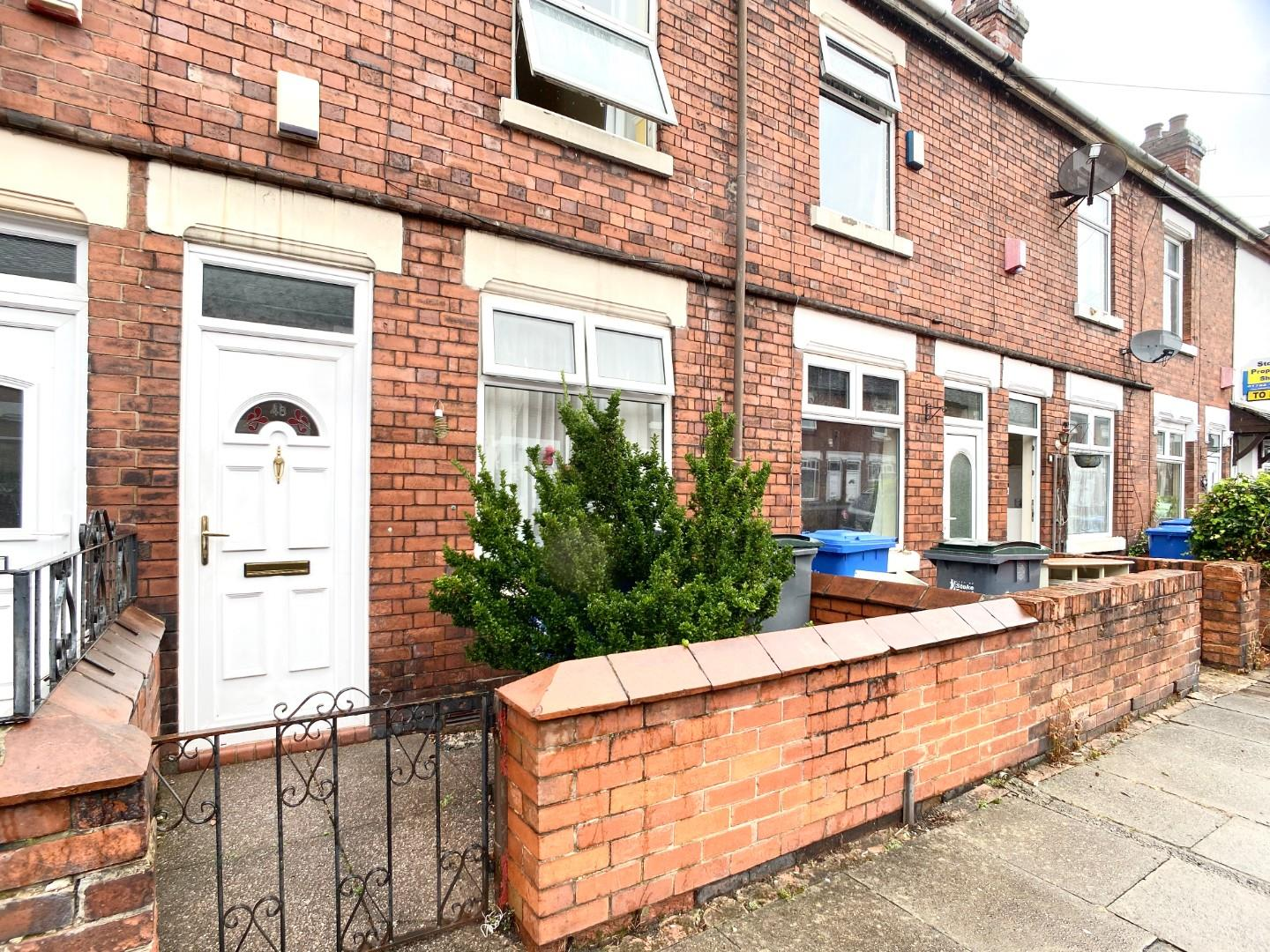 2 bed terraced house for sale in Keary Street, Staffordshire  - Property Image 1