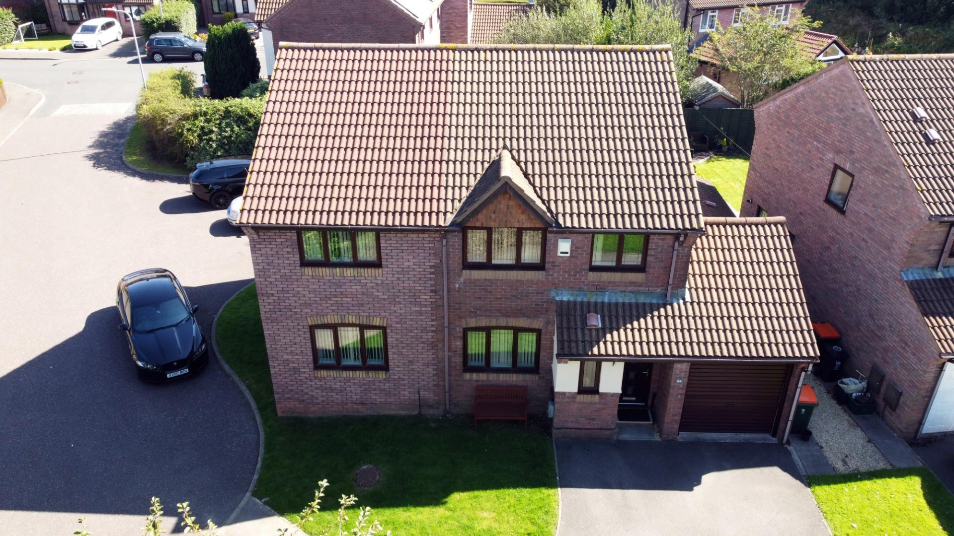4 bed detached house for sale in The Meadows, Cardiff - Property Image 1