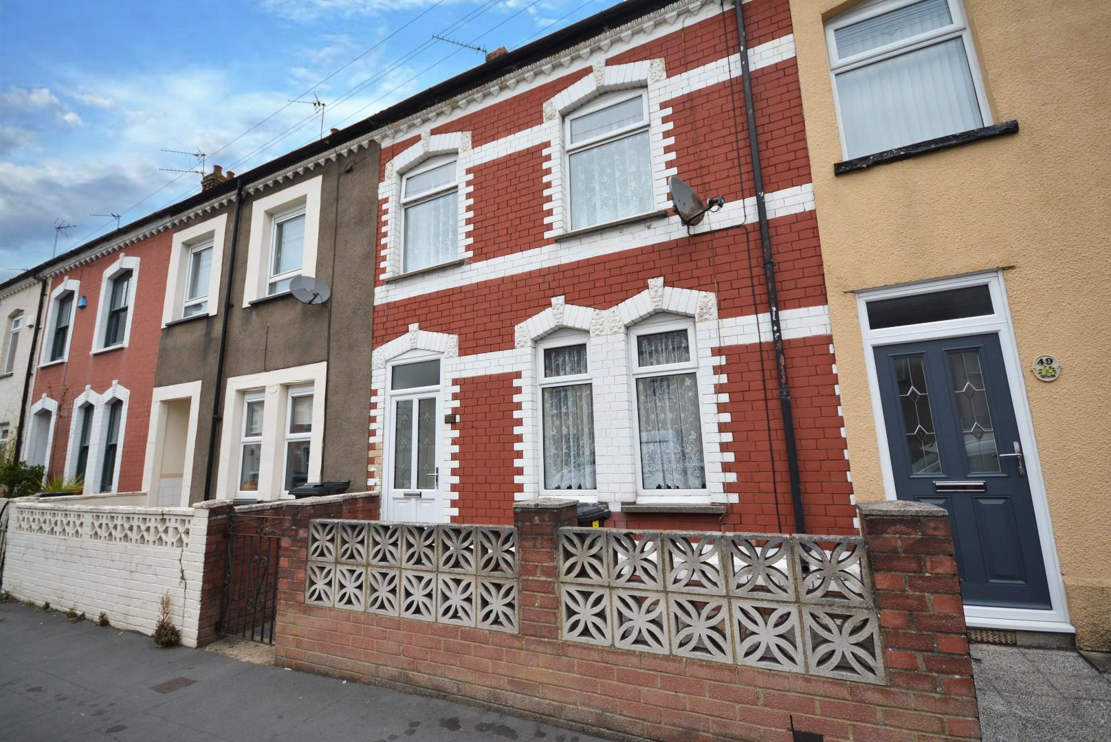 3 bed terraced house for sale in Burnaby Street, Cardiff, CF24