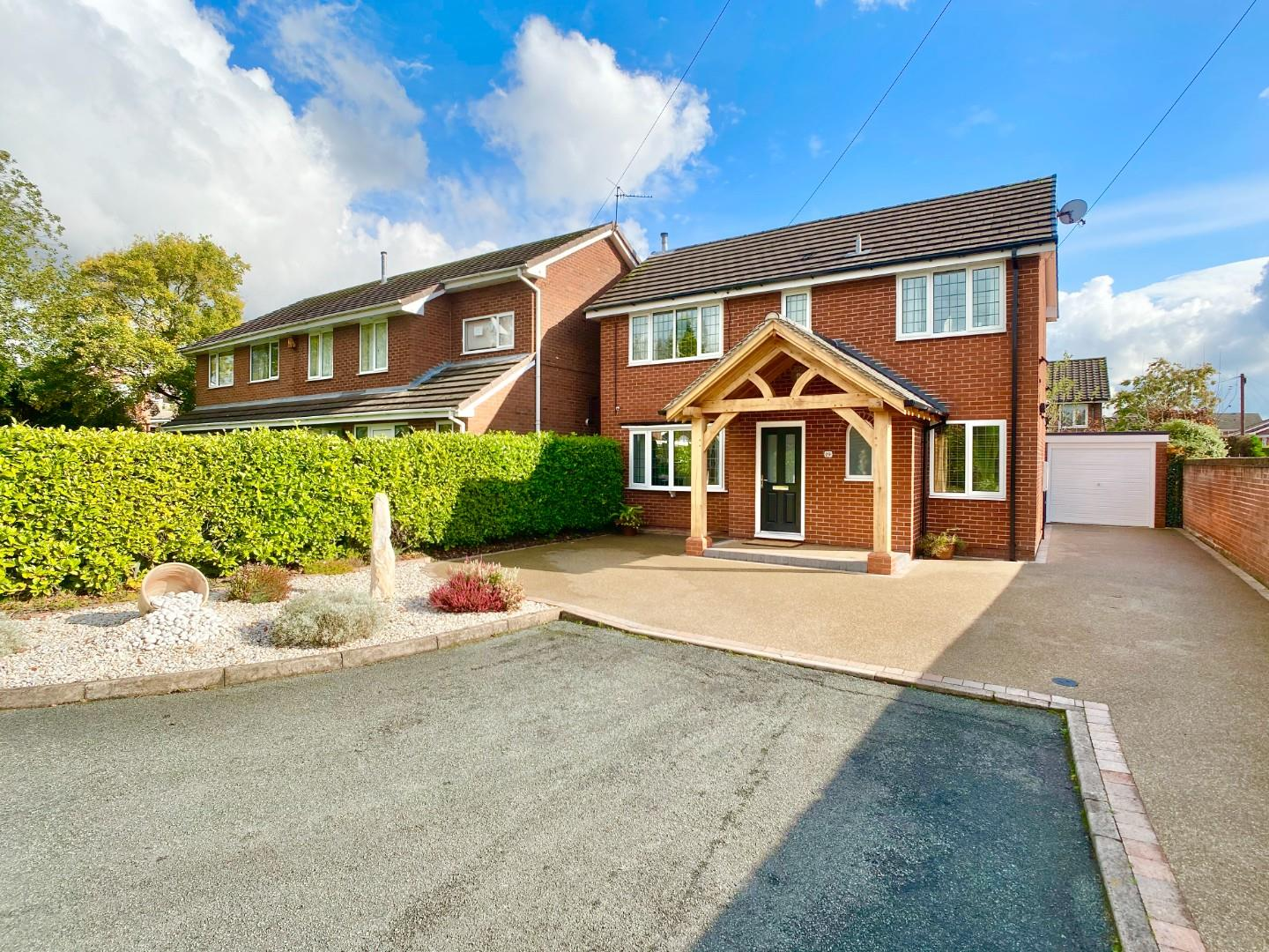 4 bed detached house for sale in Melville Court, Newcastle-under-Lyme, ST5