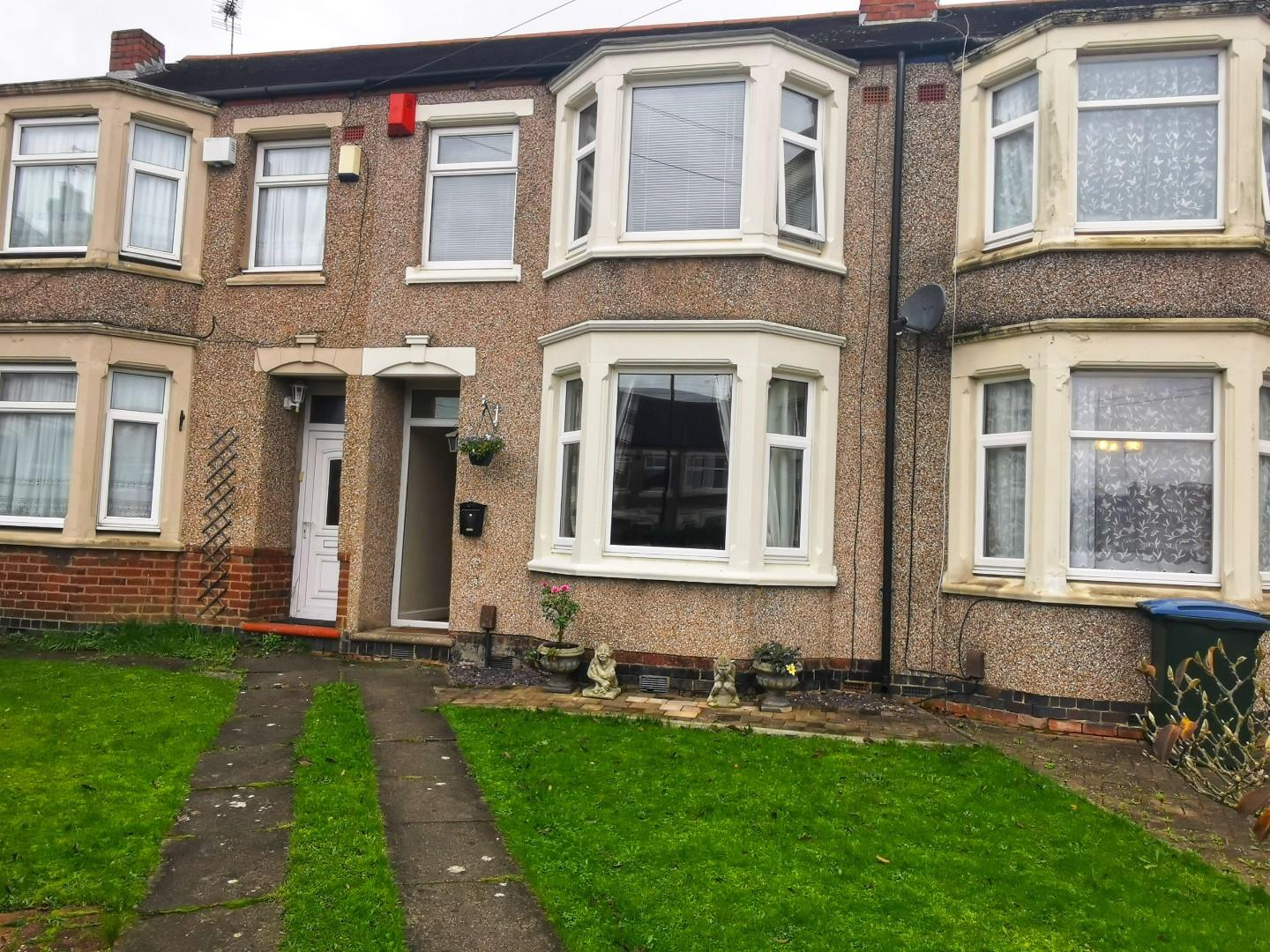 3 bed terraced house for sale in Devon Grove, Coventry, CV2