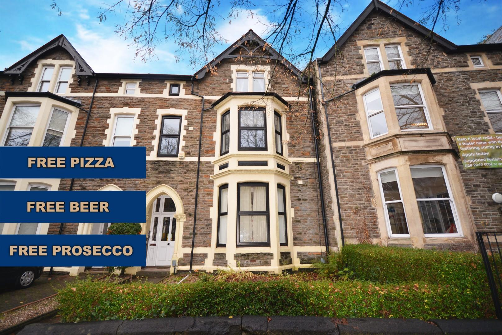 1 bed private halls to rent in Richmond Road, Cardiff  - Property Image 1