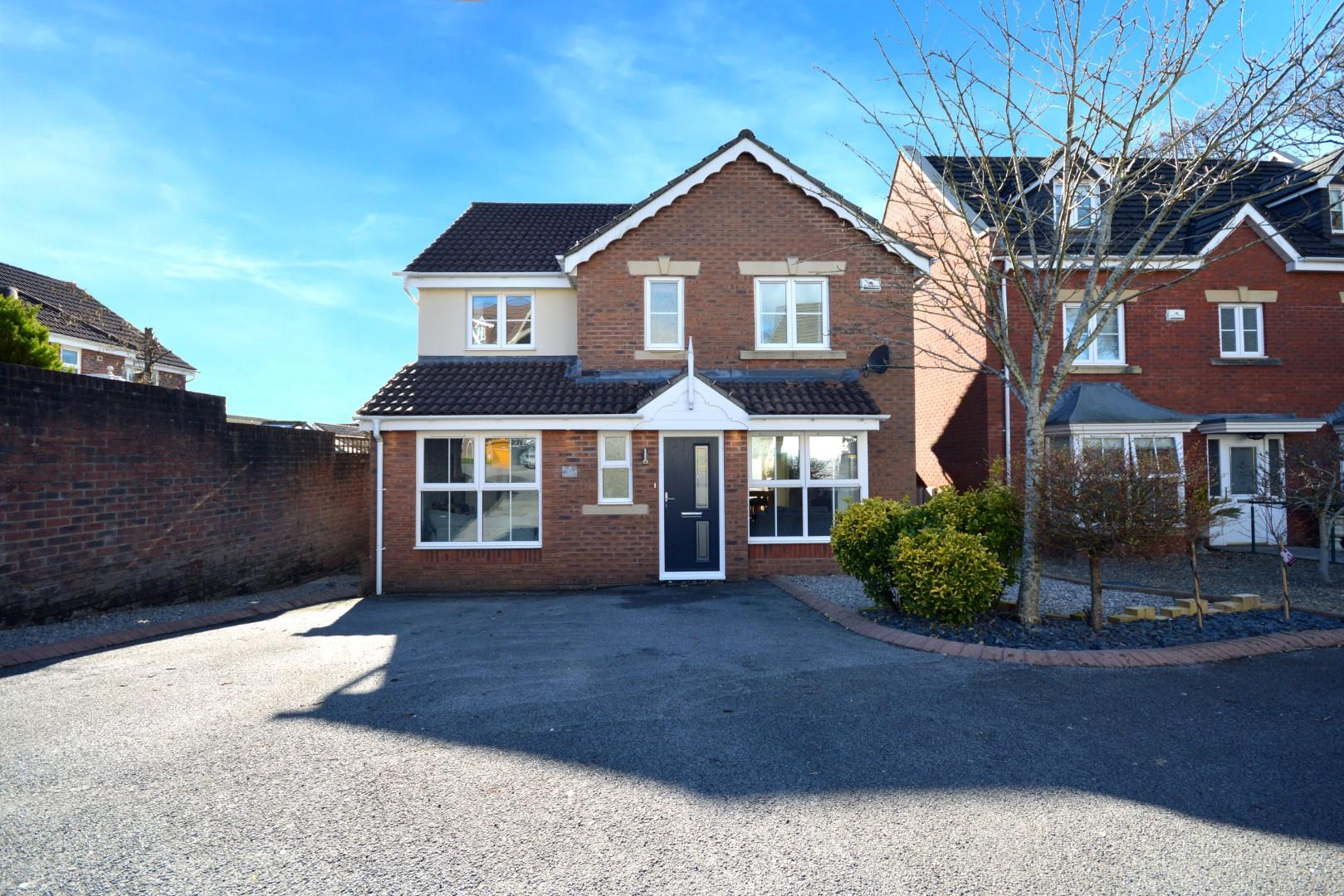 4 bed detached house for sale in Llewelyn Goch, Cardiff - Property Image 1