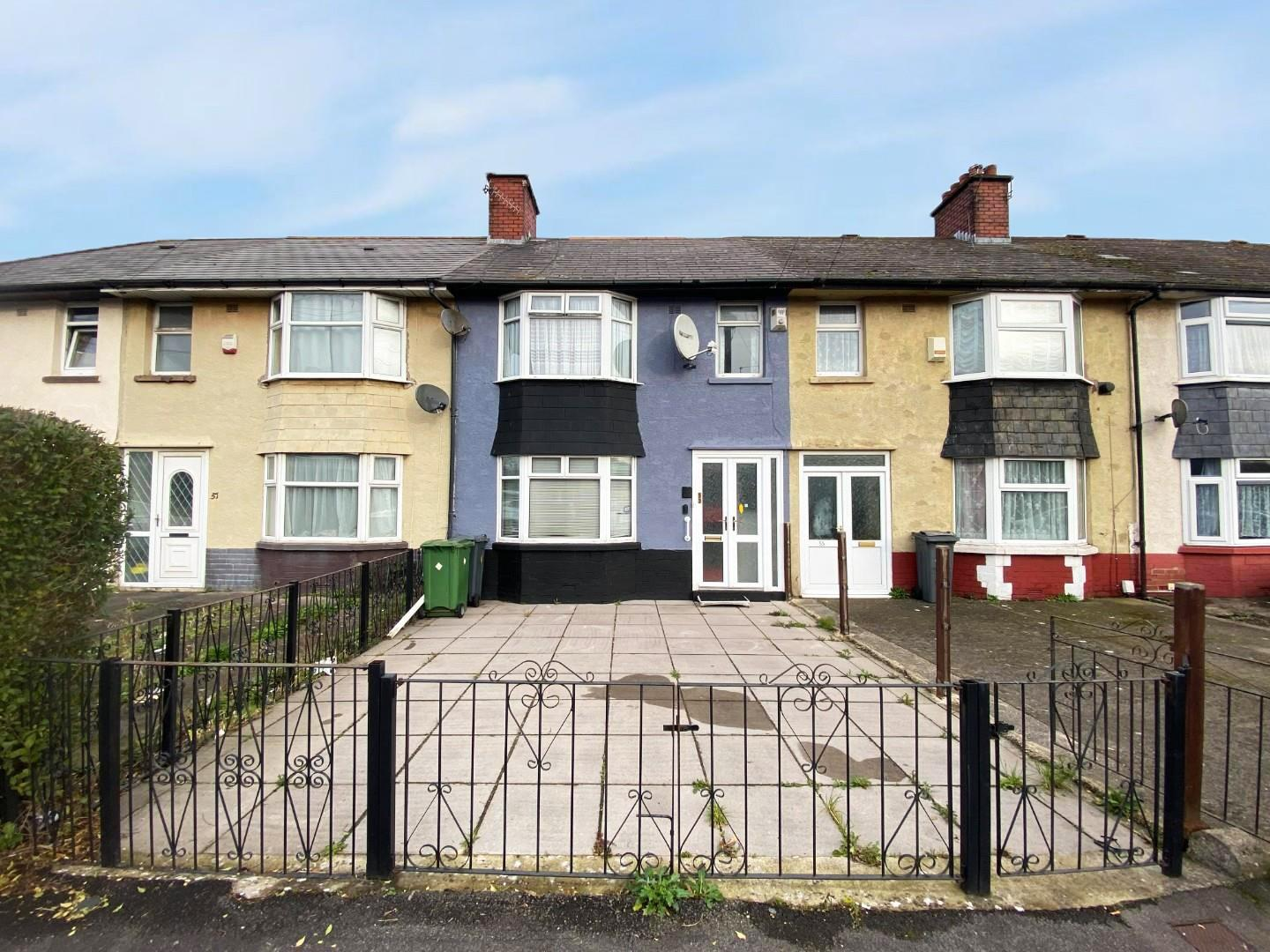 3 bed terraced house for sale in Whitaker Road, Cardiff, CF24