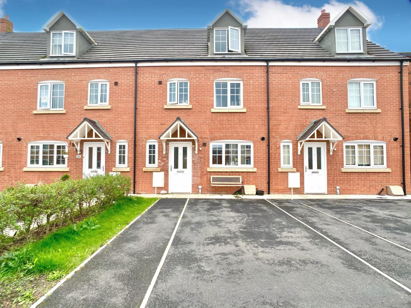 4 bed terraced house for sale in Mallow Avenue, Crewe, CW2